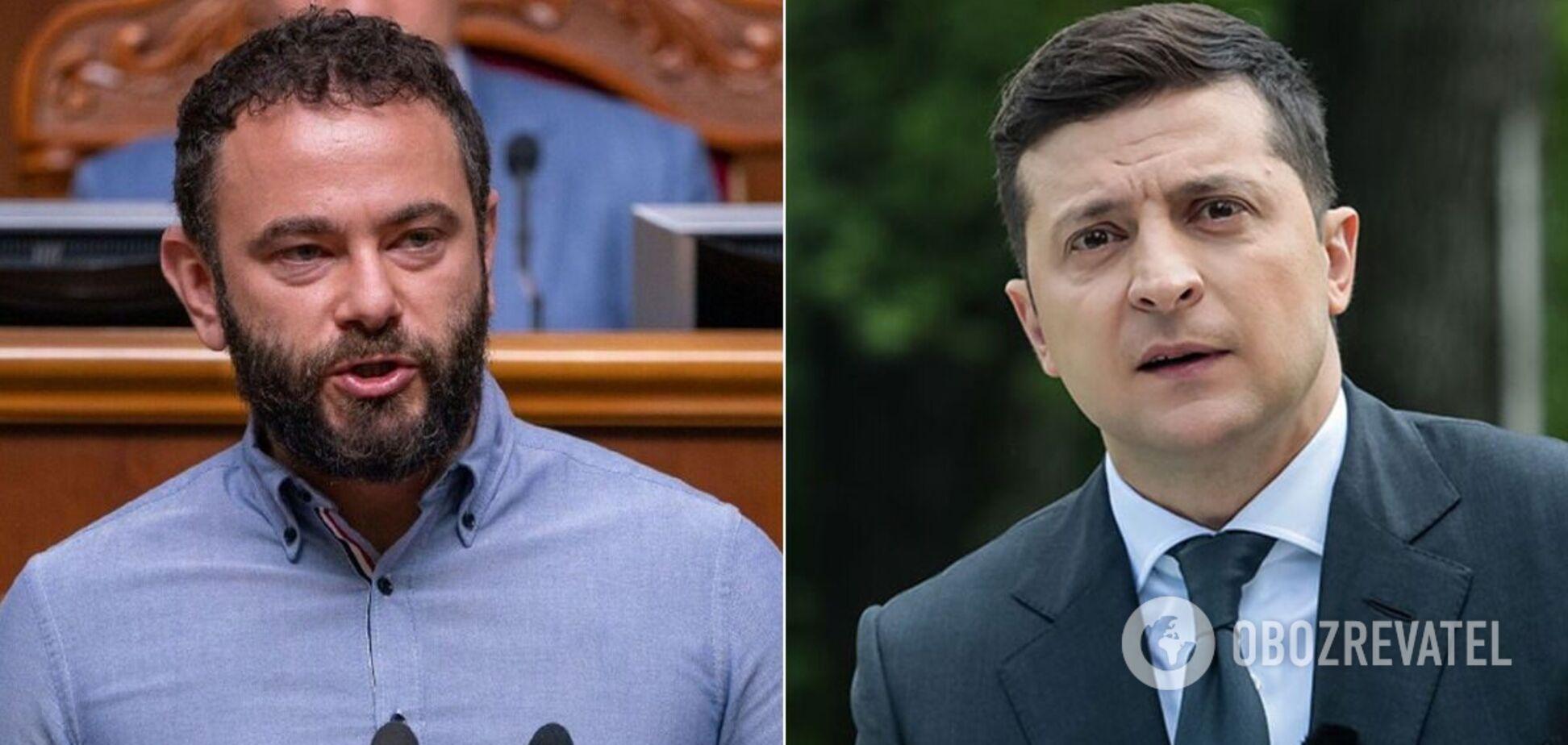 Дубинский попросил Зеленского о встрече