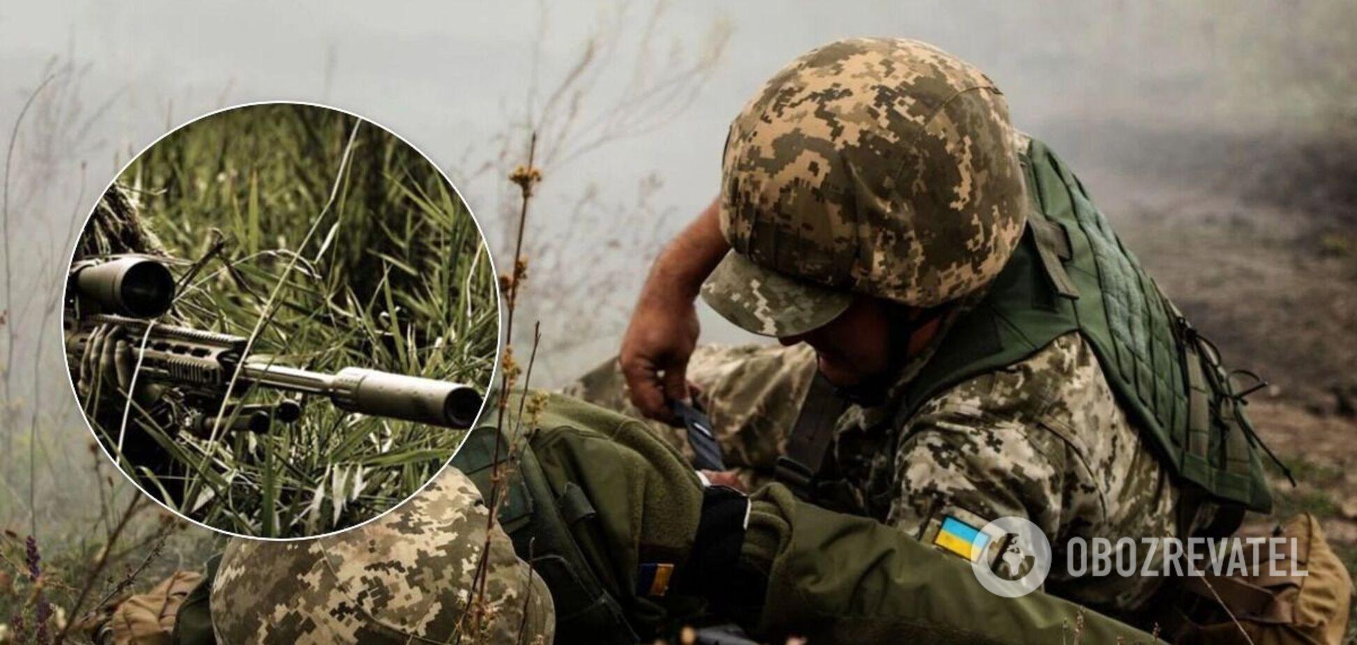 Воину ВСУ снайпер попал в легкое: новые данные о состоянии раненого на Донбассе. Фото 18+