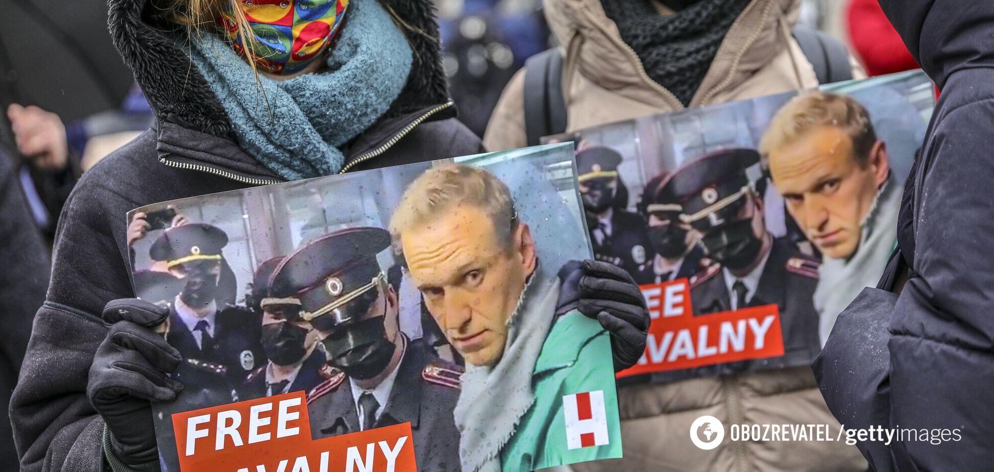 Протесты в России в поддержку Навального