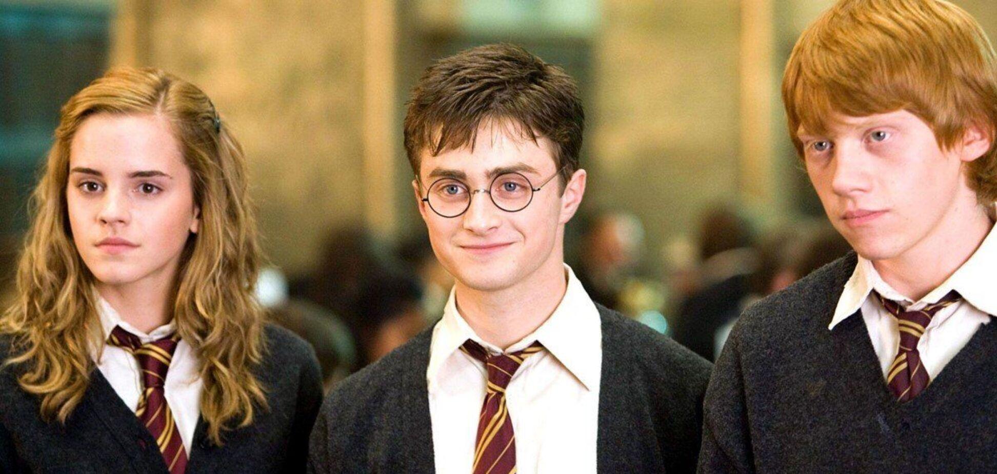 Кадр из фильма 'Гарри Поттер'