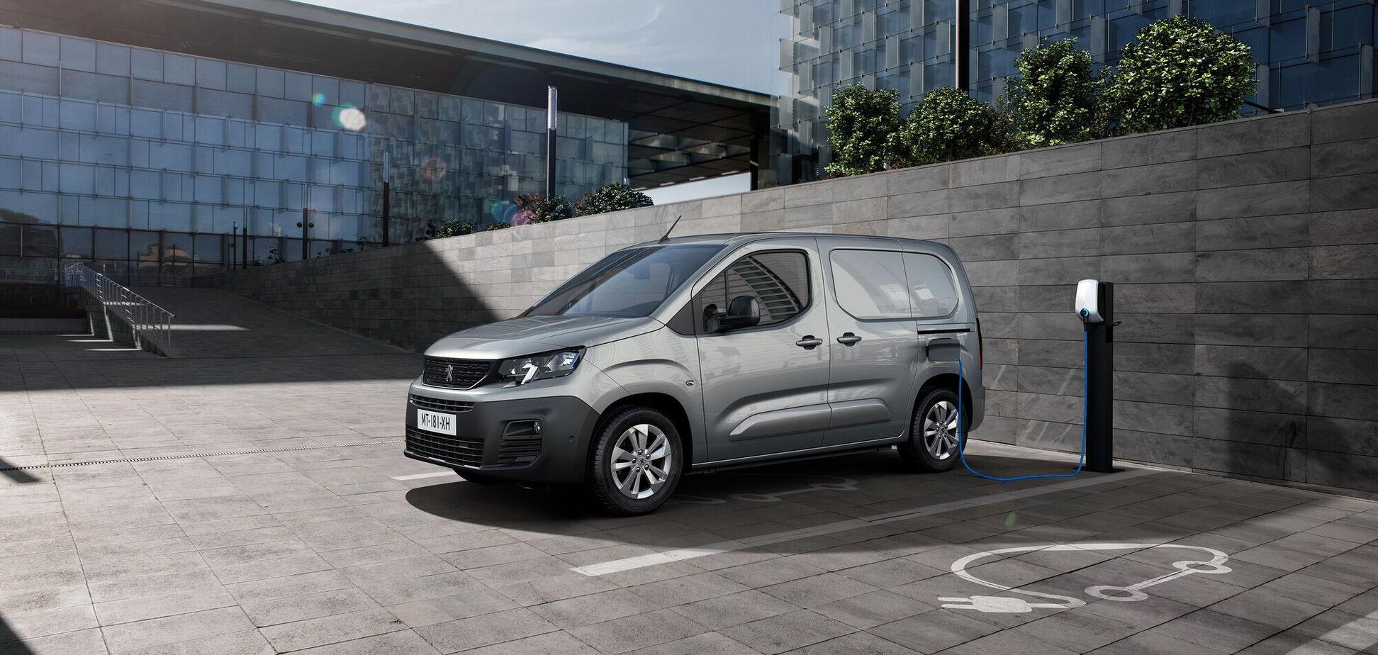 Peugeot поповнив лінійку електромобілів моделлю e-Partner