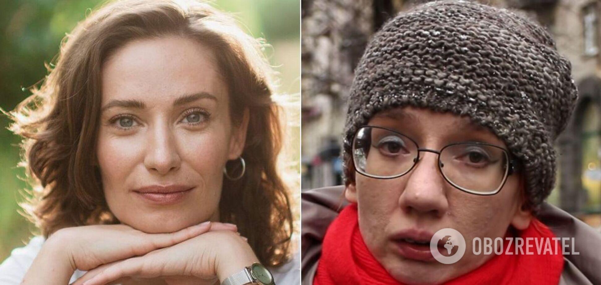Судентка Мария Прошковская и профессор Евгения Бильченко