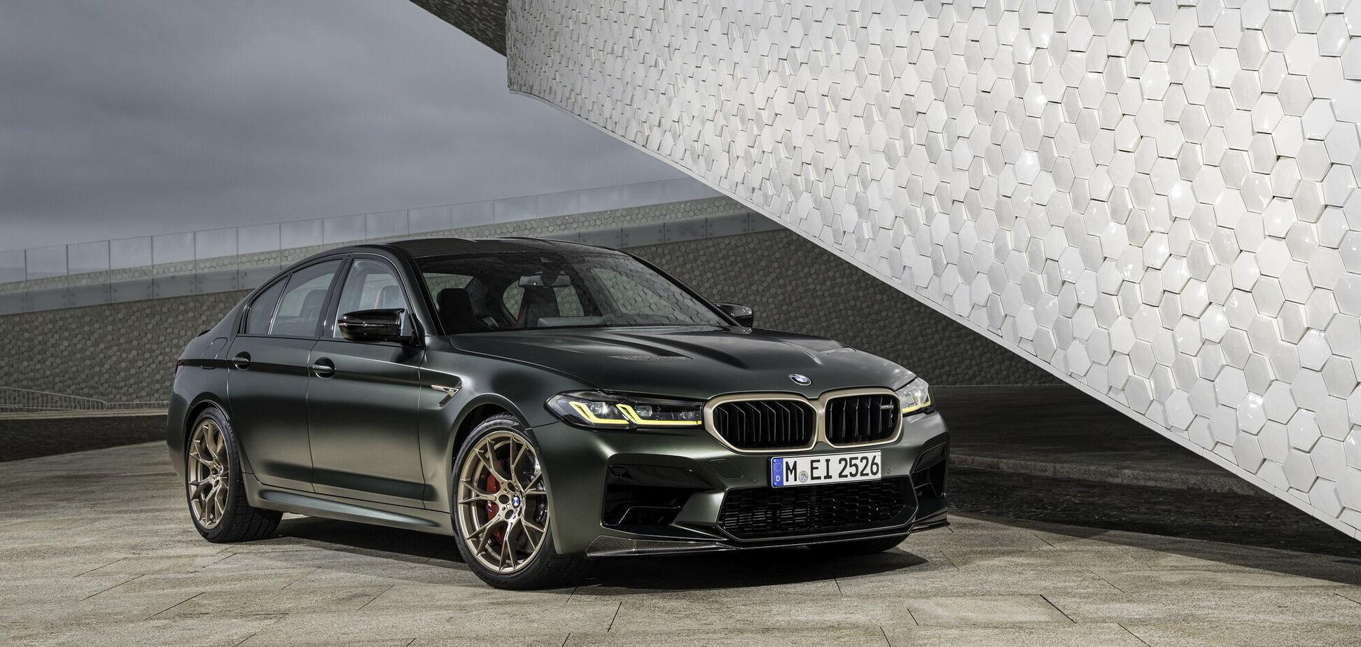 Новый BMW M5 CS способен разогнаться до 'сотни' за 3 секунды