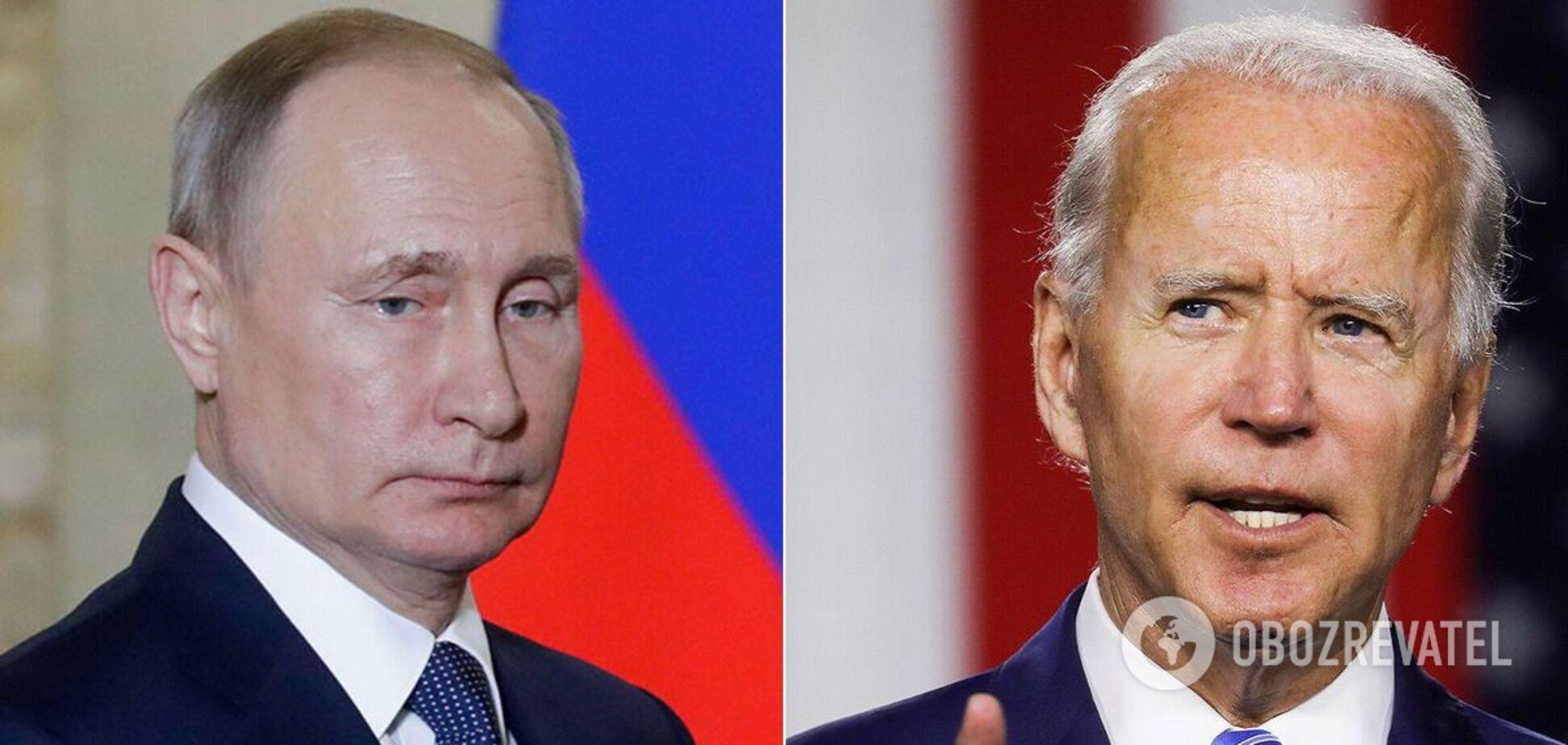 У Путина признали серьезные разногласия с Байденом по Украине