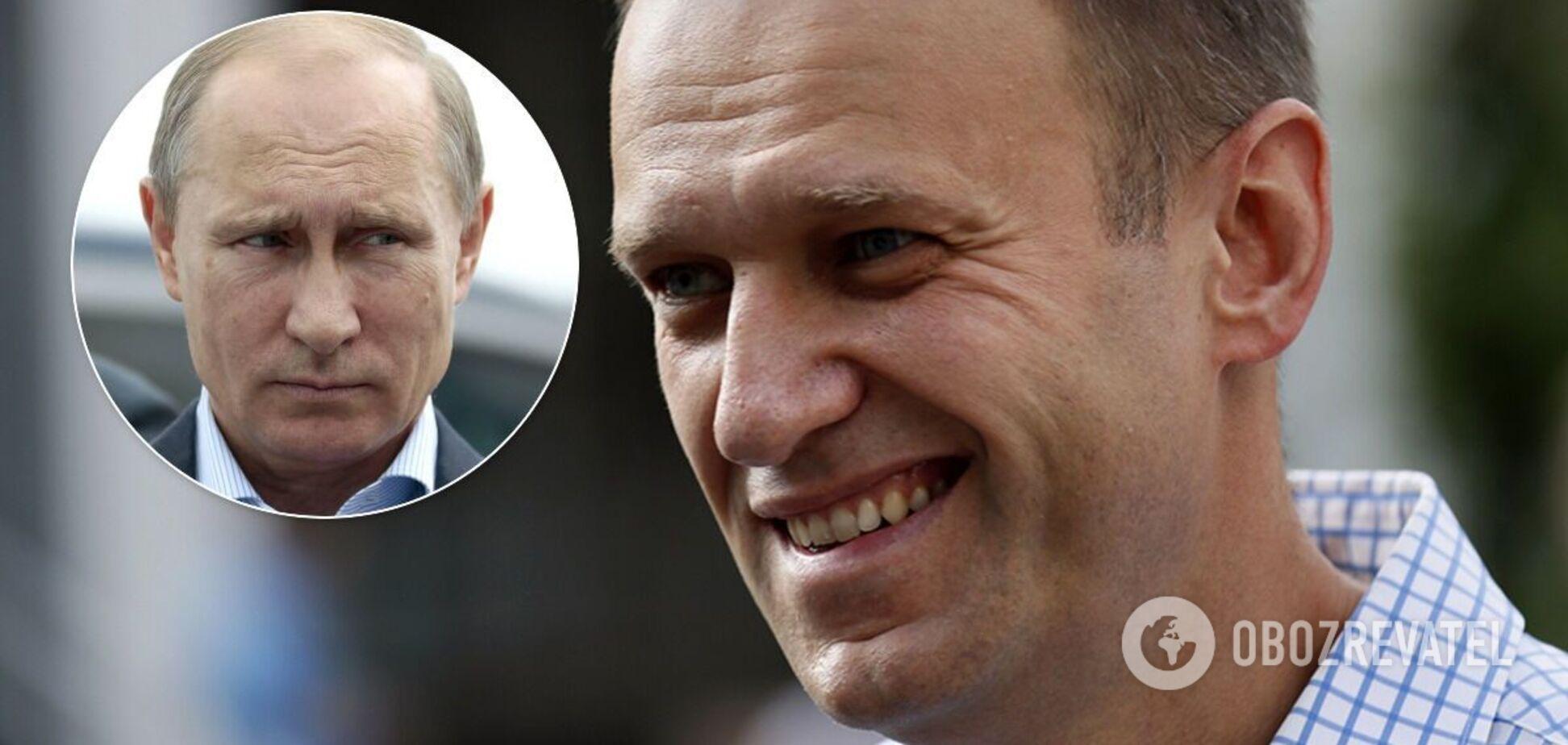 Навального назвали президентом Росії замість Путіна