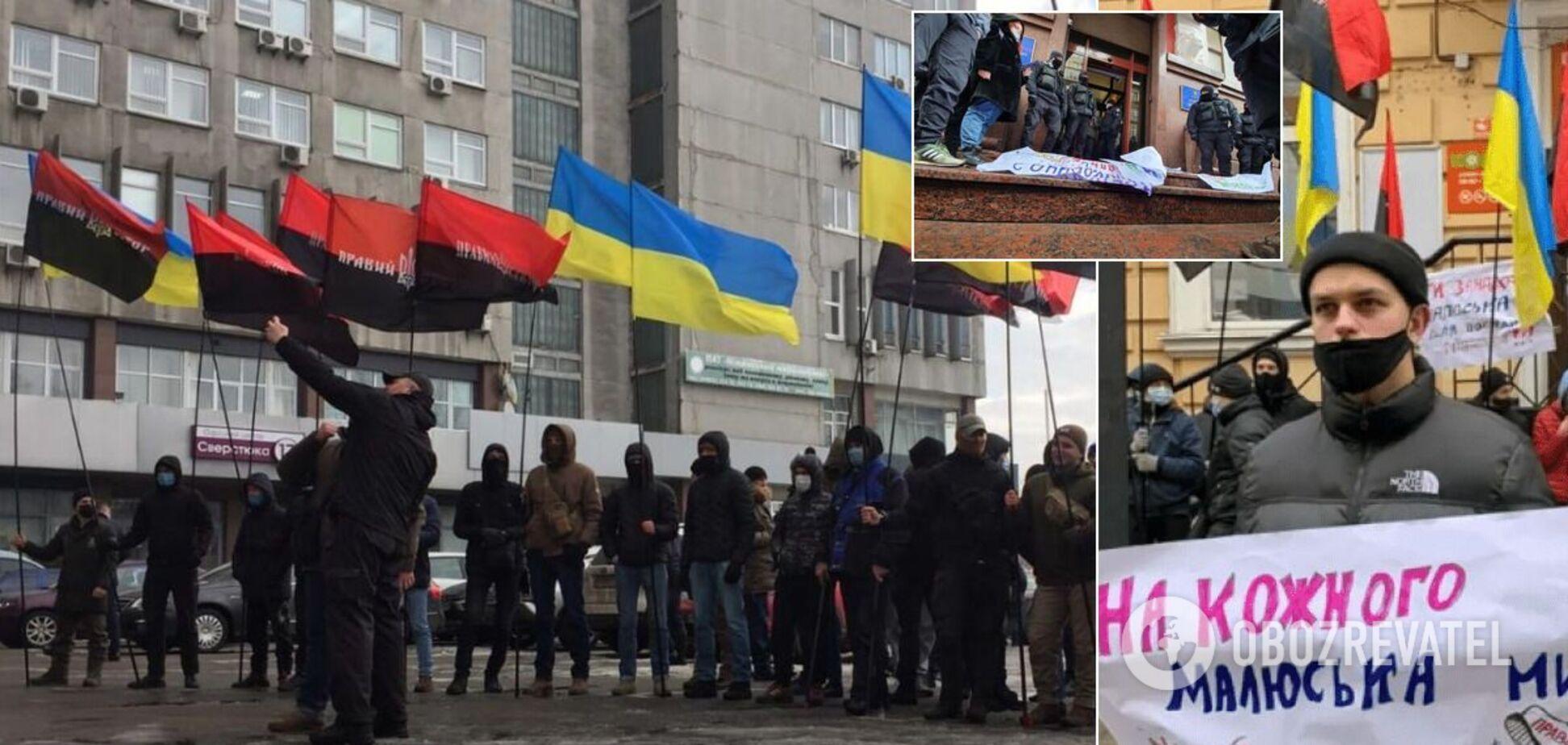 'Левый' бизнес 'правых' радикалов: почему ПС давит на министра Малюську в интересах рейдеров?