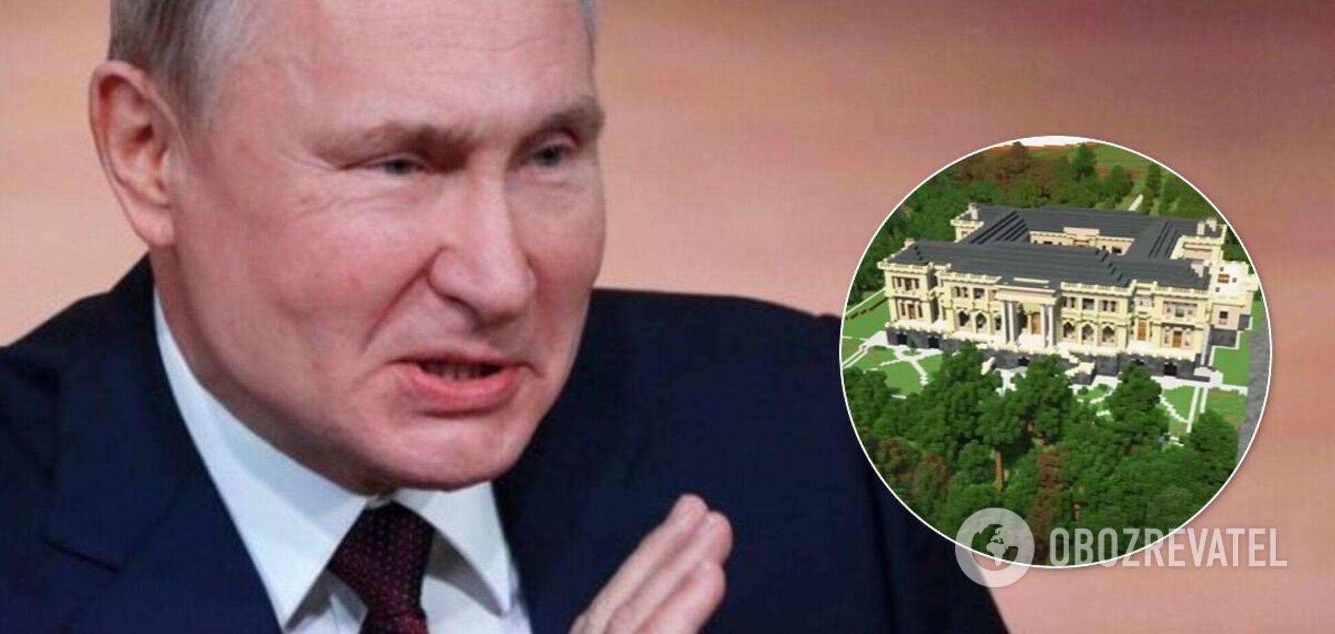 В Minecraft воссоздали копию 'дворца Путина'. Видео