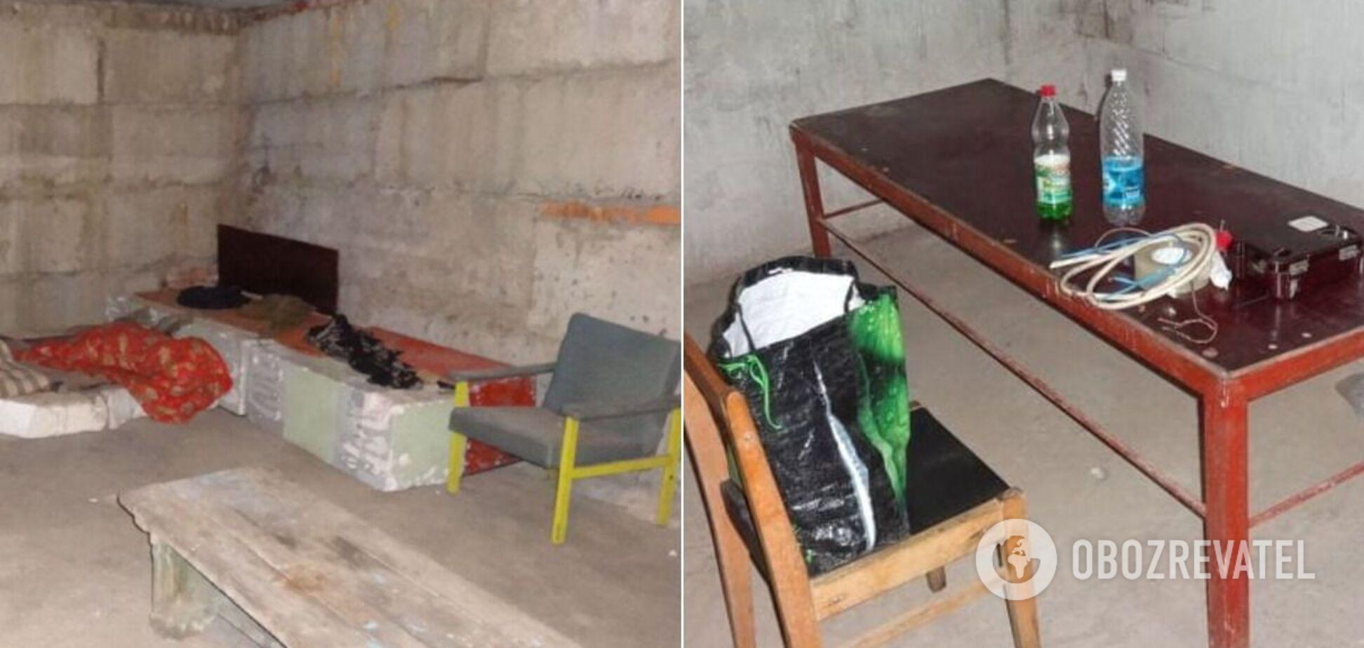 Опубліковано фото концтабору терористів 'Ізоляція' в Донецьку