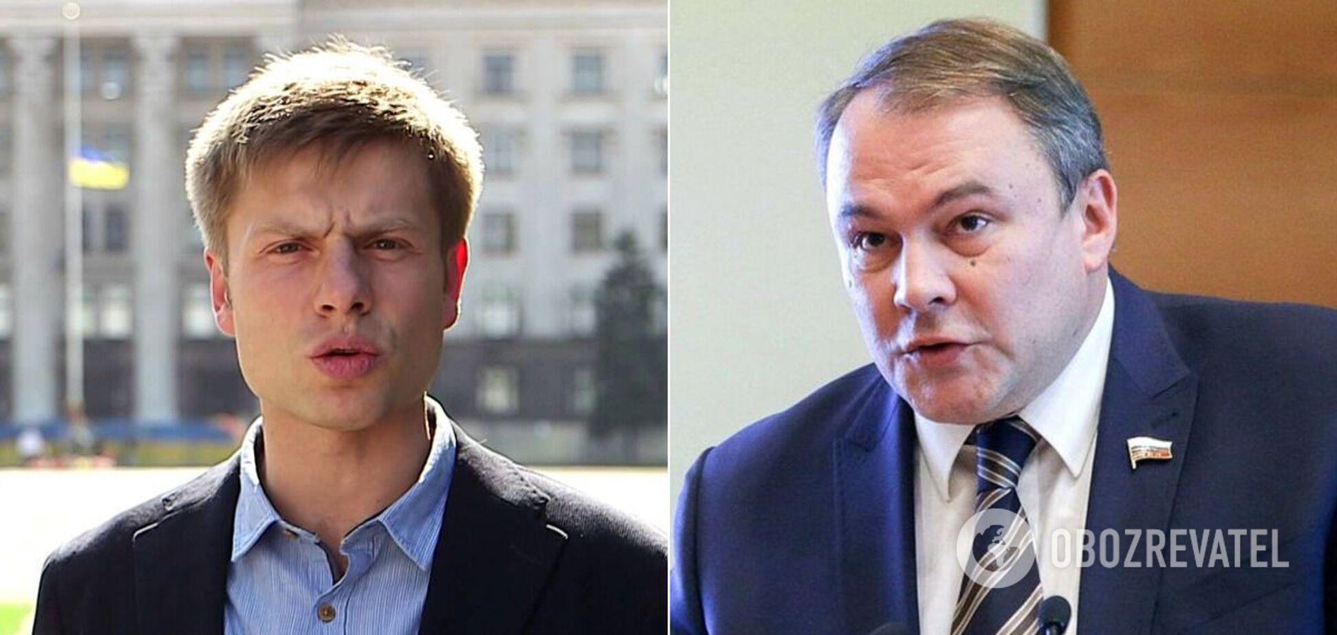 Олексій Гончаренко і Петро Толстой