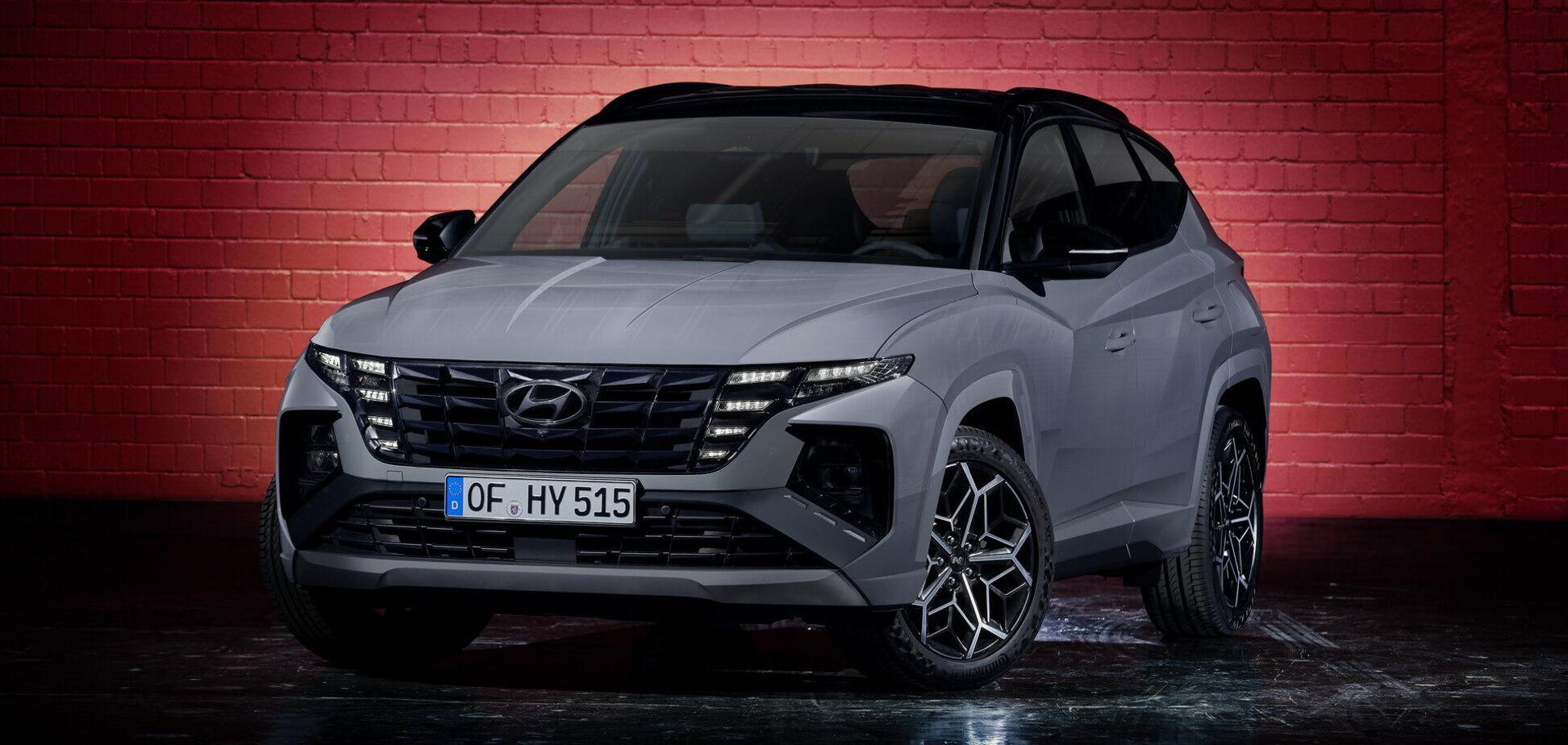 Hyundai представил спортивную версию Tucson N Line