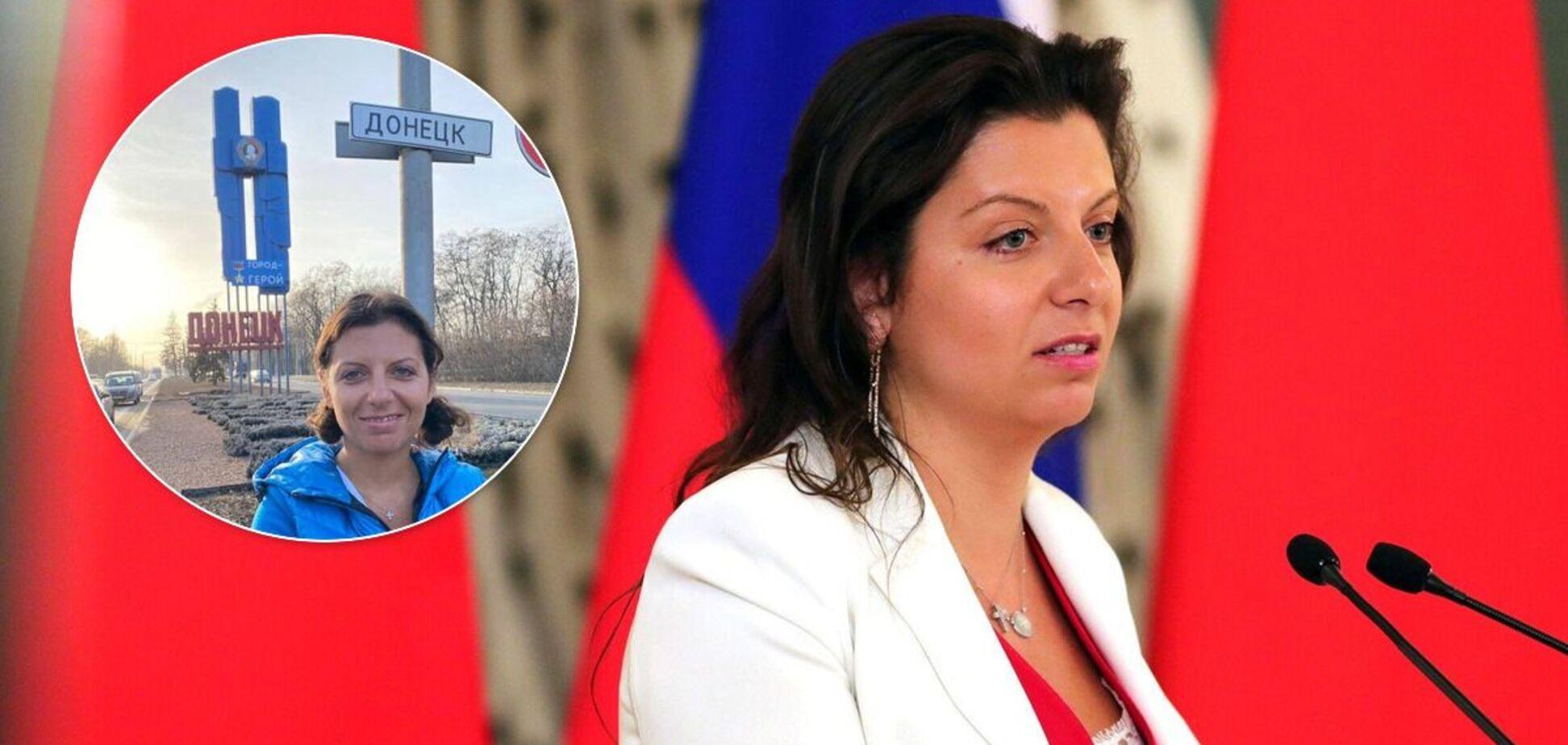 Маргарита Симоньян приехала в 'ДНР'