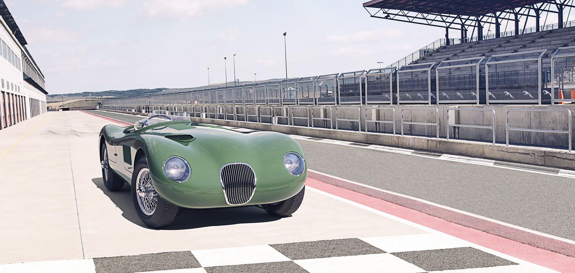 Jaguar відродить гоночну модель 50-х років