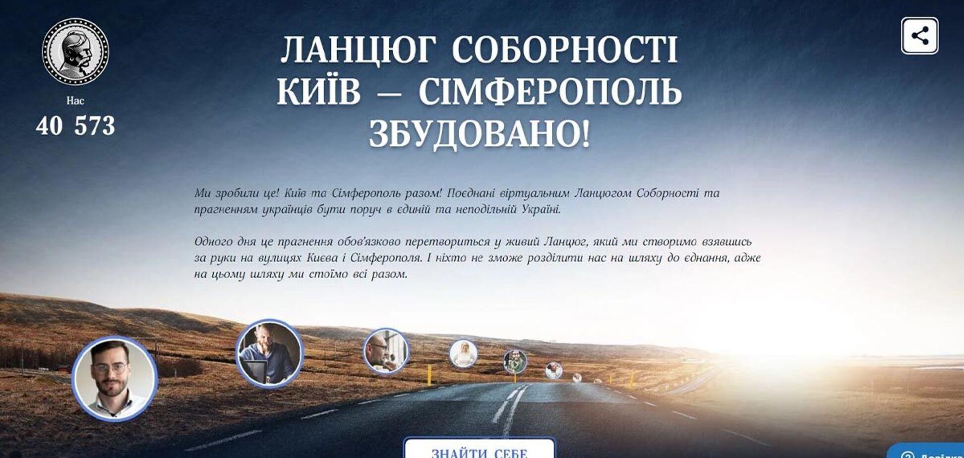 'Ланцюг Соборності' 2021 – нова сторінка в історії України