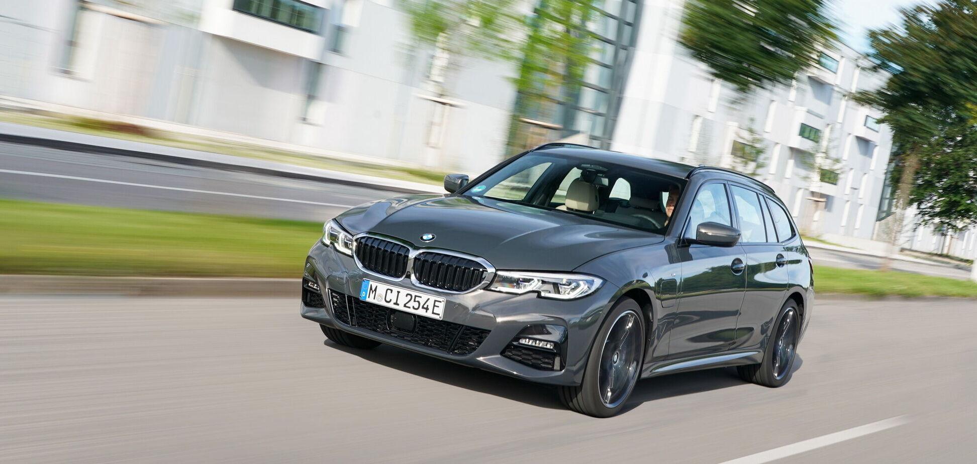BMW підготувала нові гібридні версії 'трійки' та 'п'ятірки'