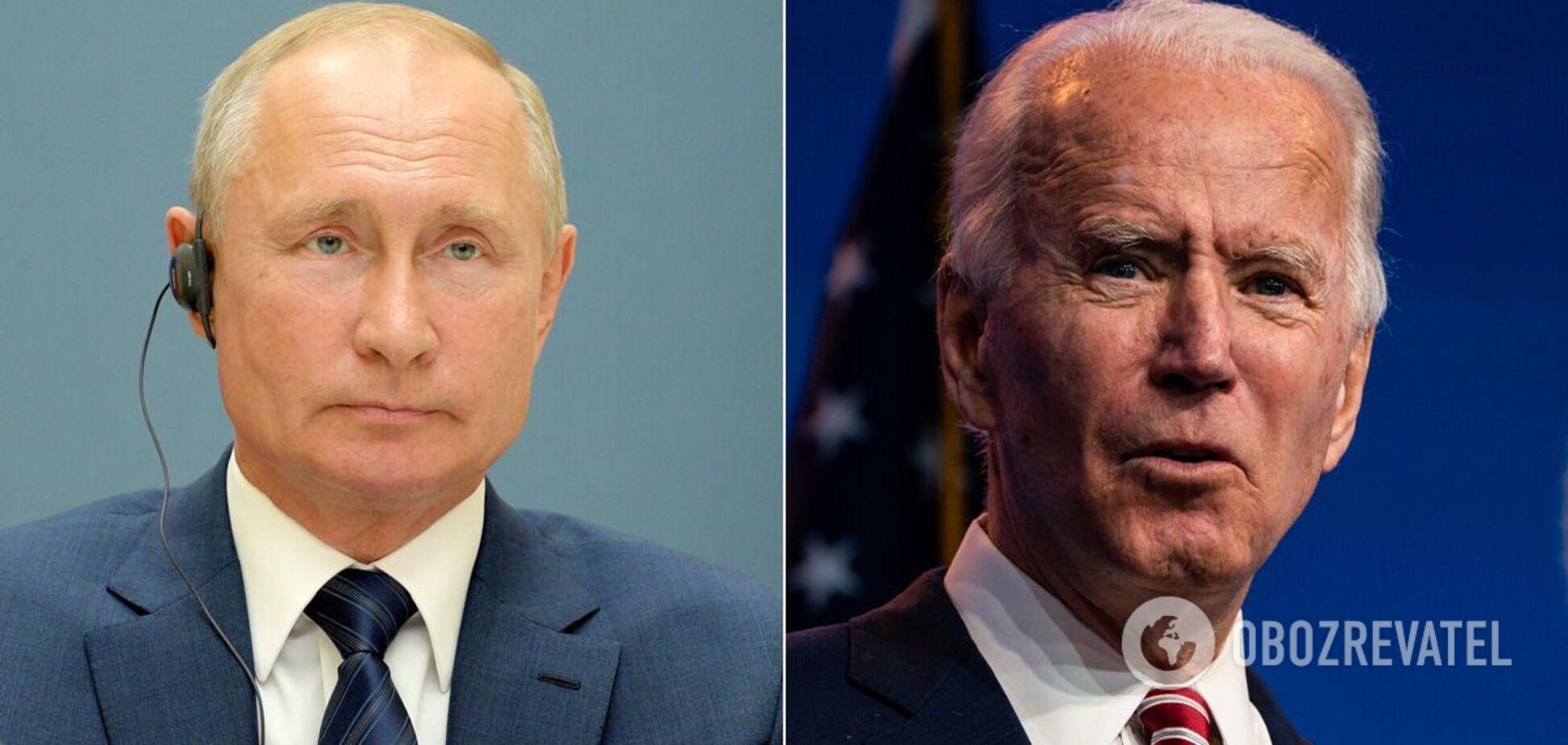 Розмова Володимира Путіна і Джо Байдена