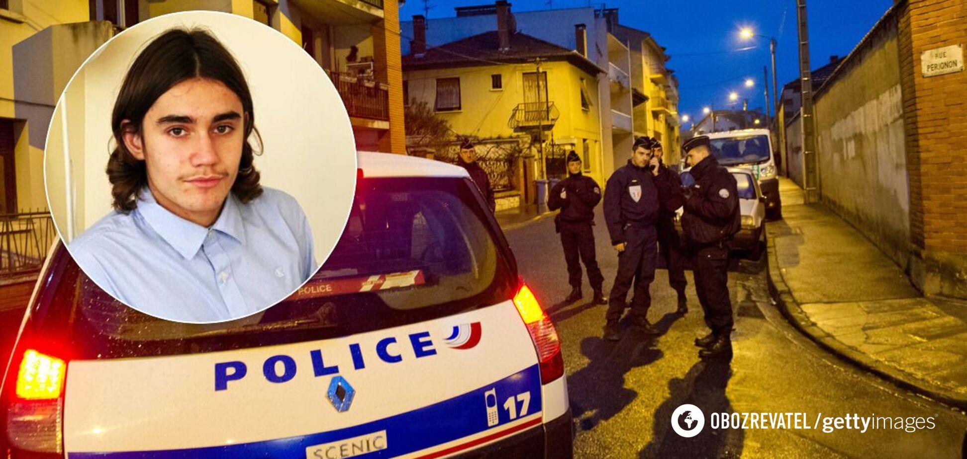 Избиение 14-летнего украинца в Париже