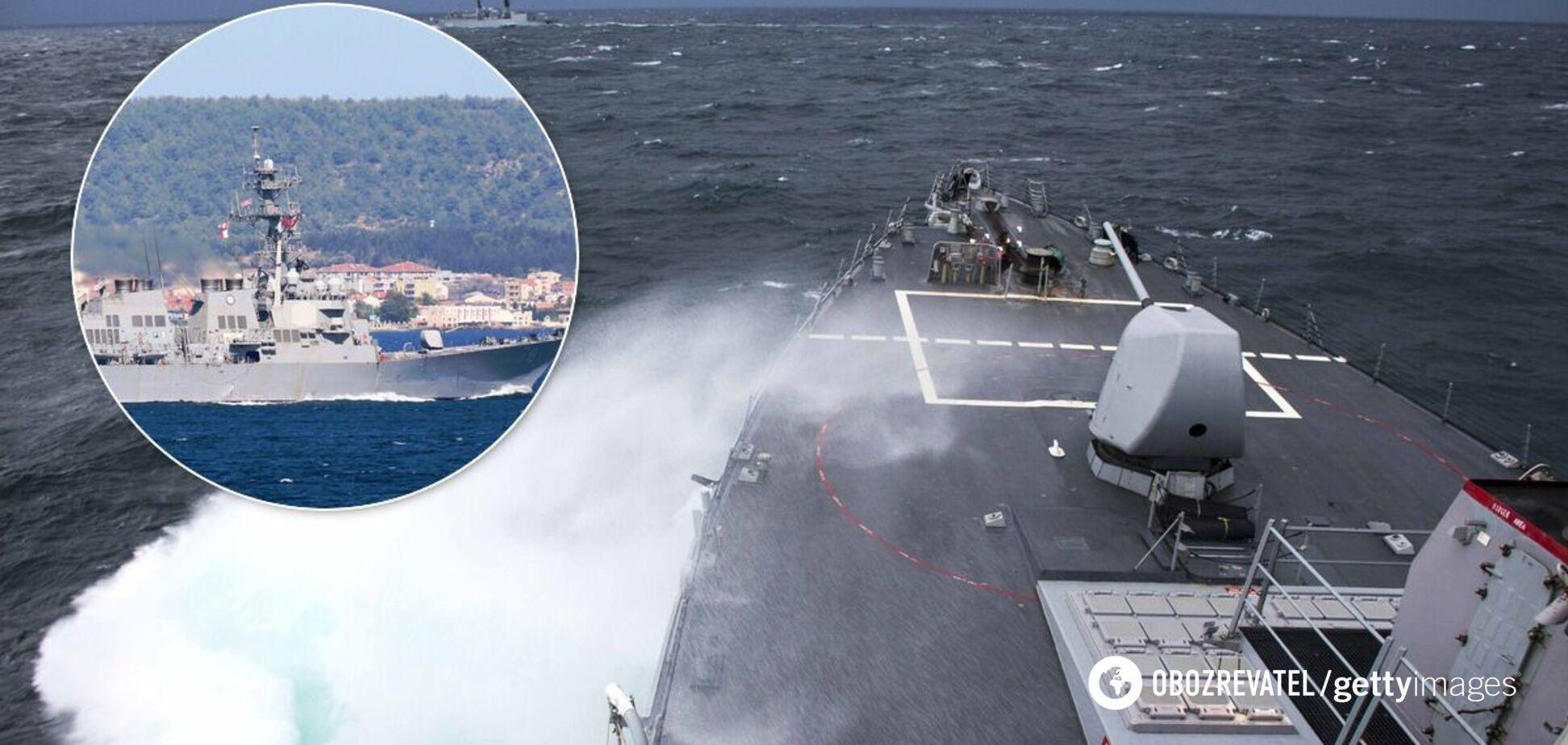 США направили в Чорне море есмінець USS Porter. Фото