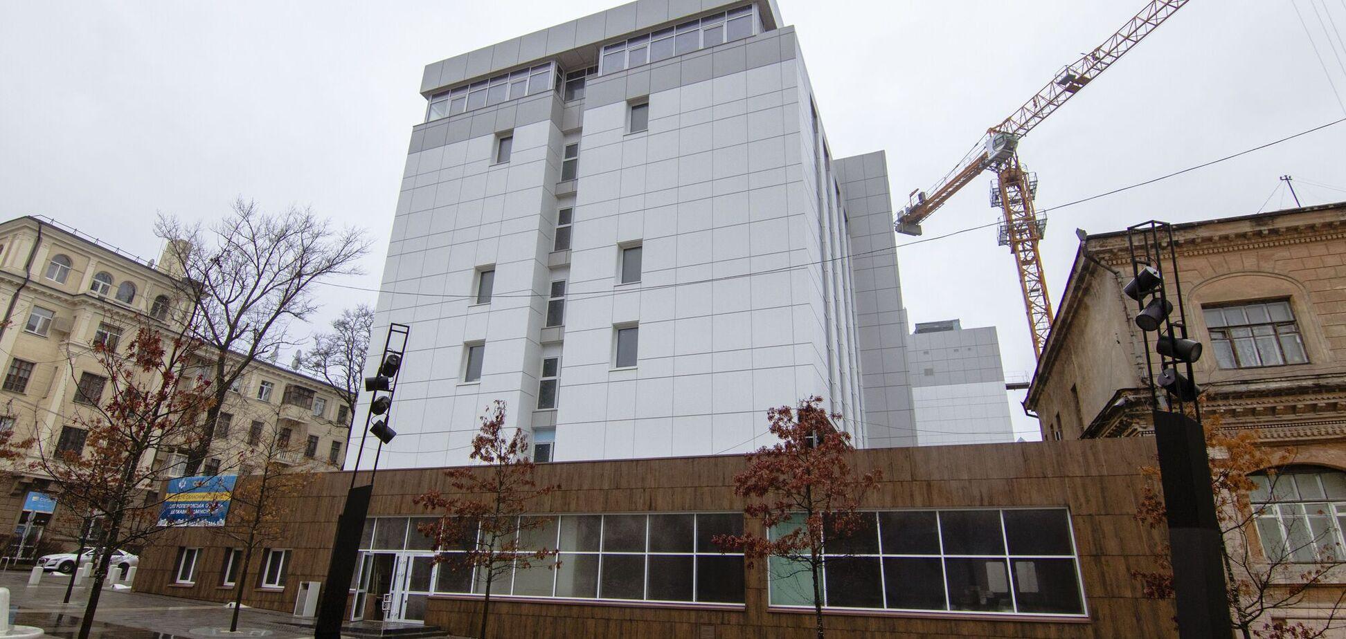 В Днепре продолжается реконструкция городской детской клинической больницы №5