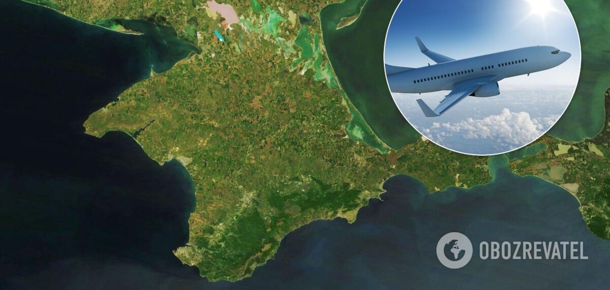 Самолеты-нарушители, летавшие в Крым, будет искать Интерпол