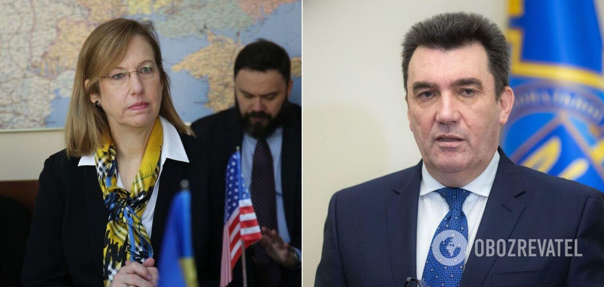 Крістіна Квін і Олексій Данілов