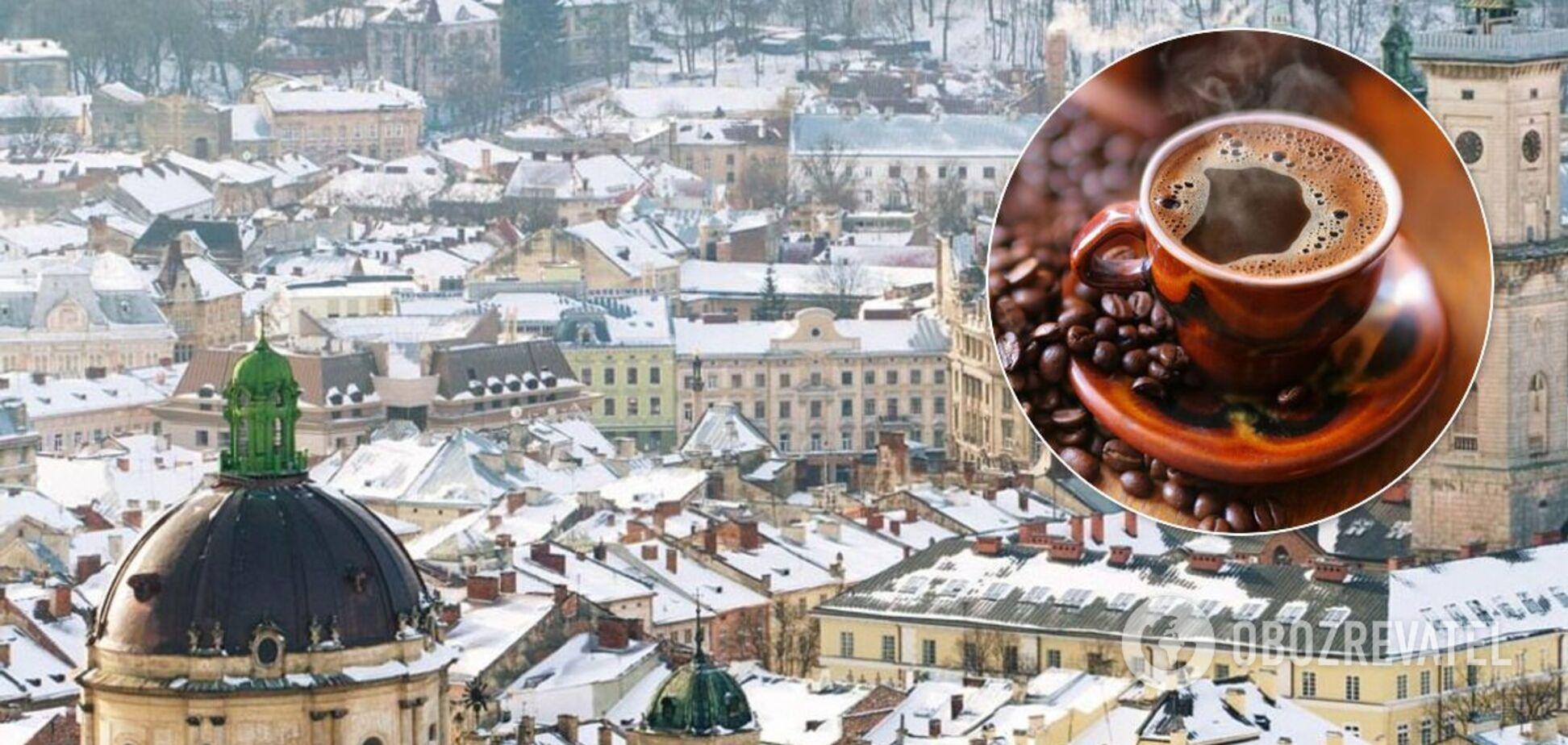 У Львові вирішили використовувати каву проти ожеледиці