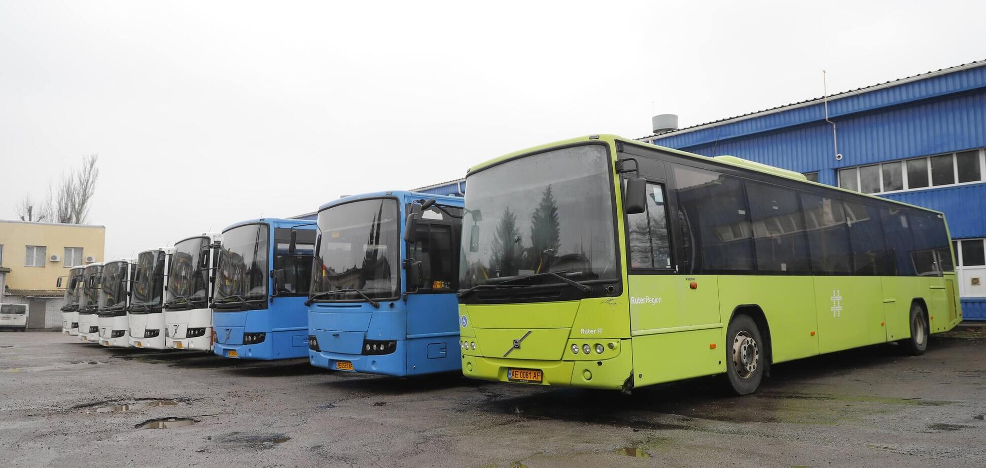 В Днепре автобусы большой вместимости появились еще на трех маршрутах