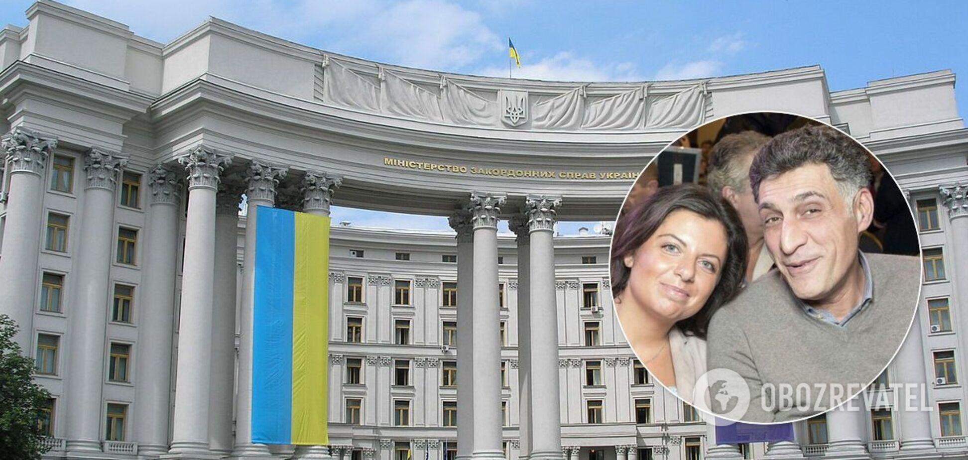 Пропагандисти Кремля Маргарита Симоньян та Тигран Кеосаян