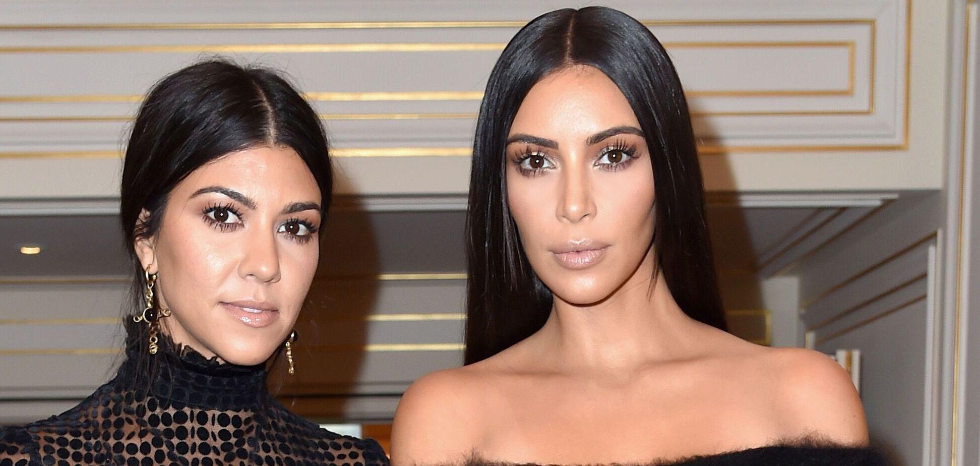 Ким Кардашьян показала, как выглядела с сестрой Кортни в подростковом возрасте