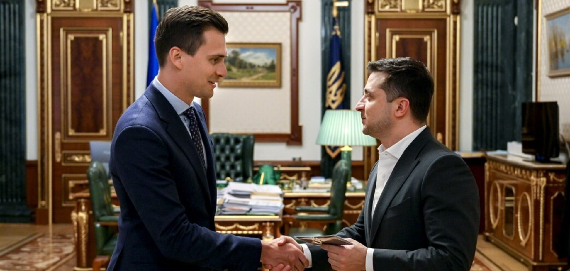 Александр Скичко и Владимир Зеленский