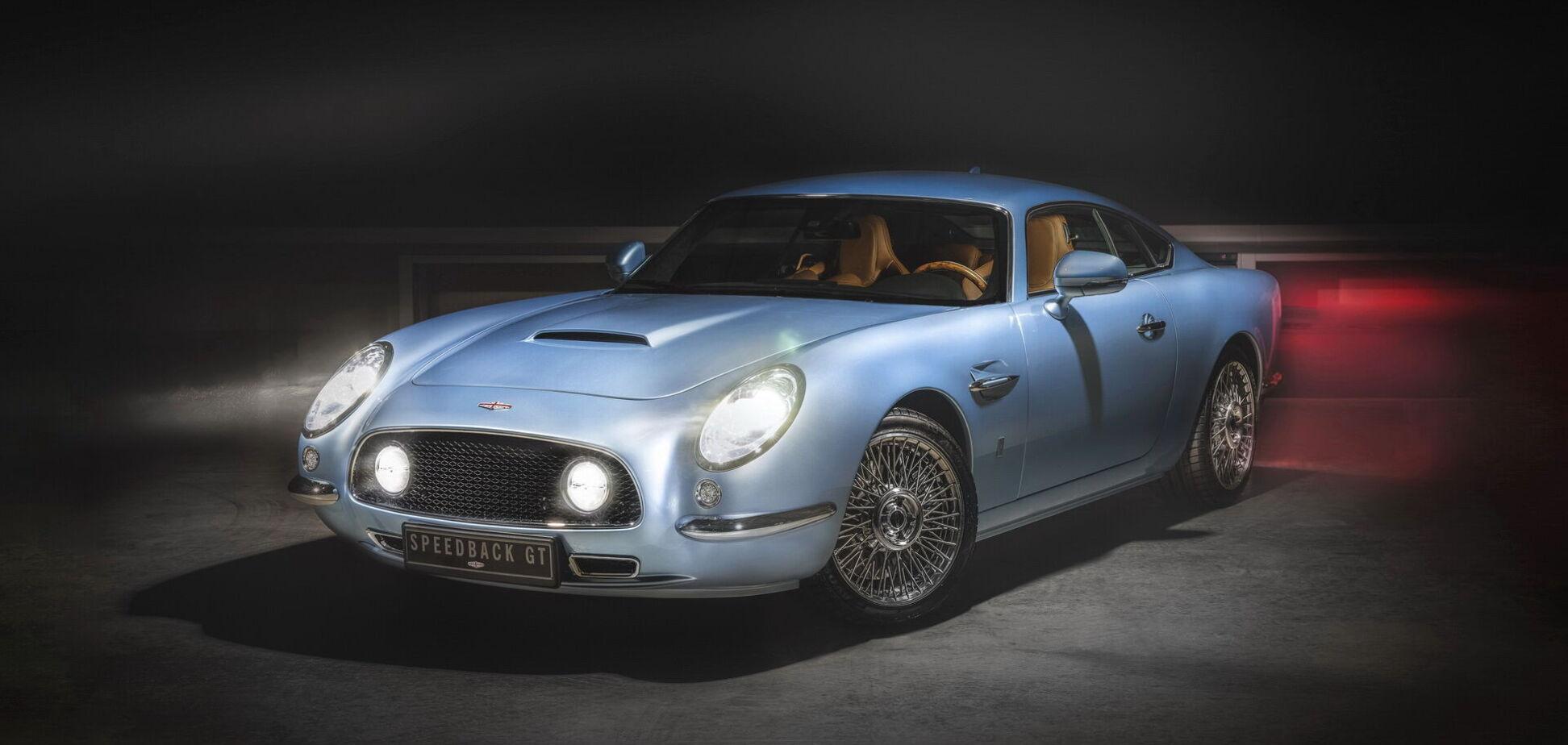 Компанія DBA показала нову версію свого купе Speedback GT