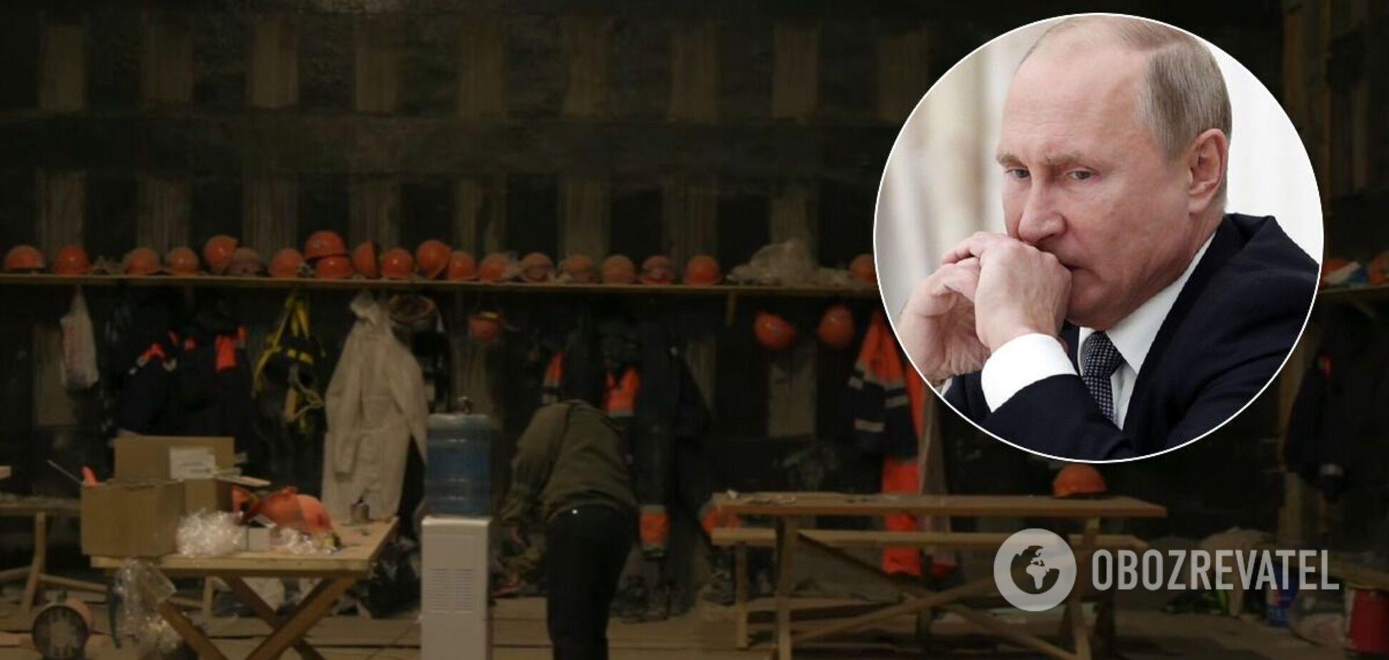 'Кремлевское' СМИ выдало дворец Путина за скромную стройку. Видео
