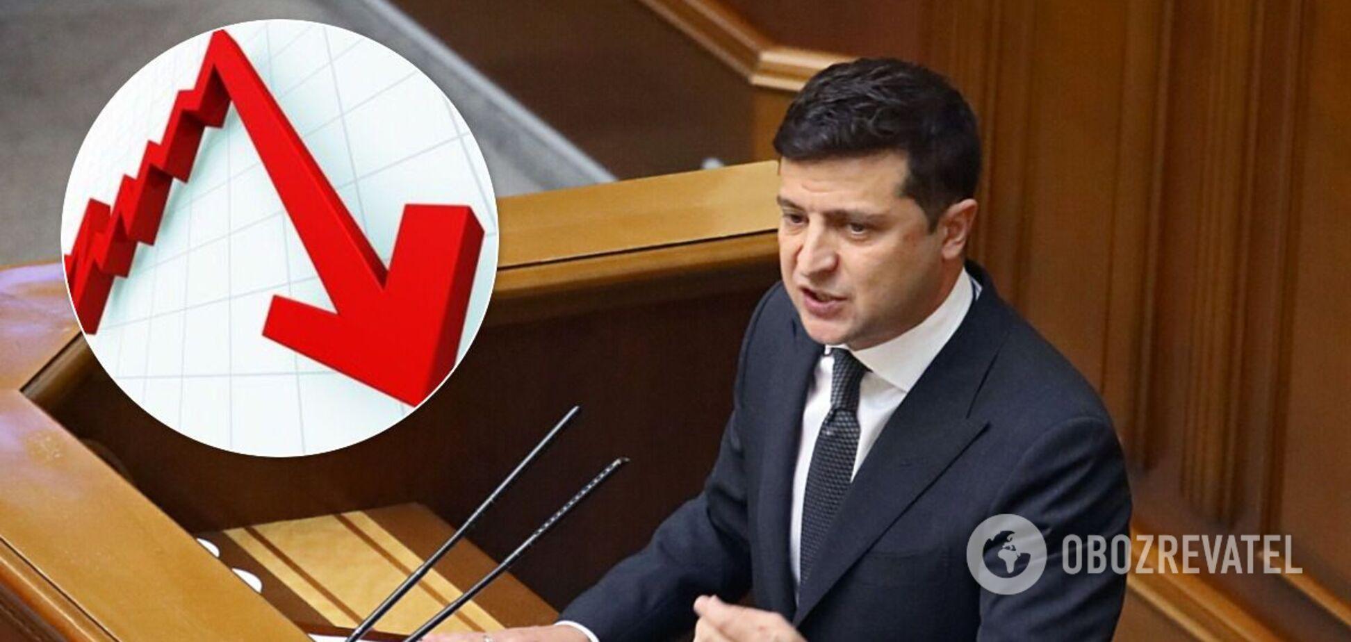 Нардепы прокомментировали данные опроса относительно рейтинга президента и его партии