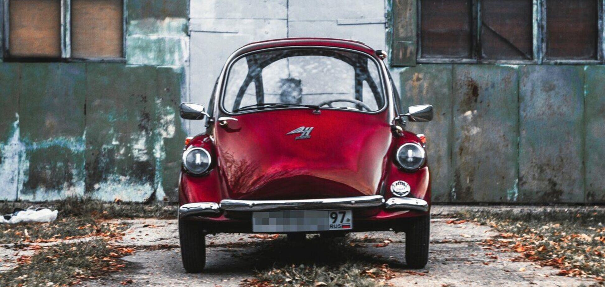 Мініатюрний Heinkel продають за ціною Kia Sportage