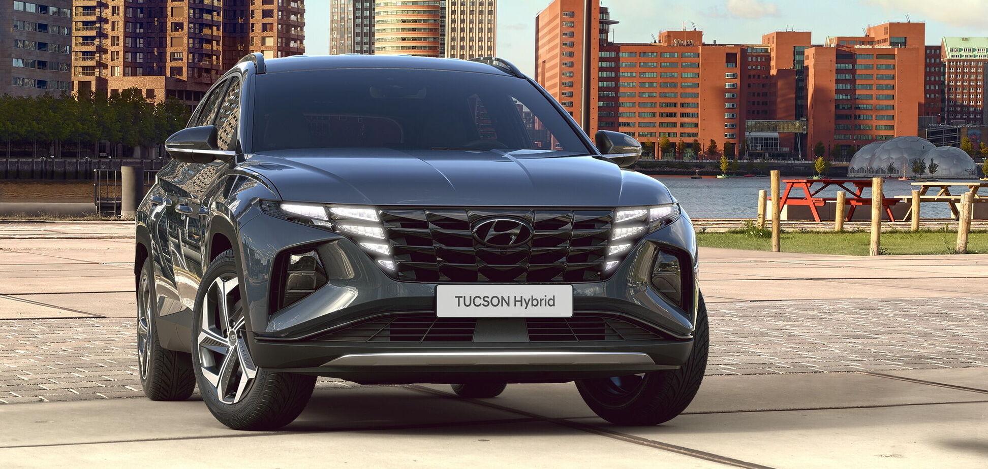 Стали известны украинские цены на новый Hyundai Tucson
