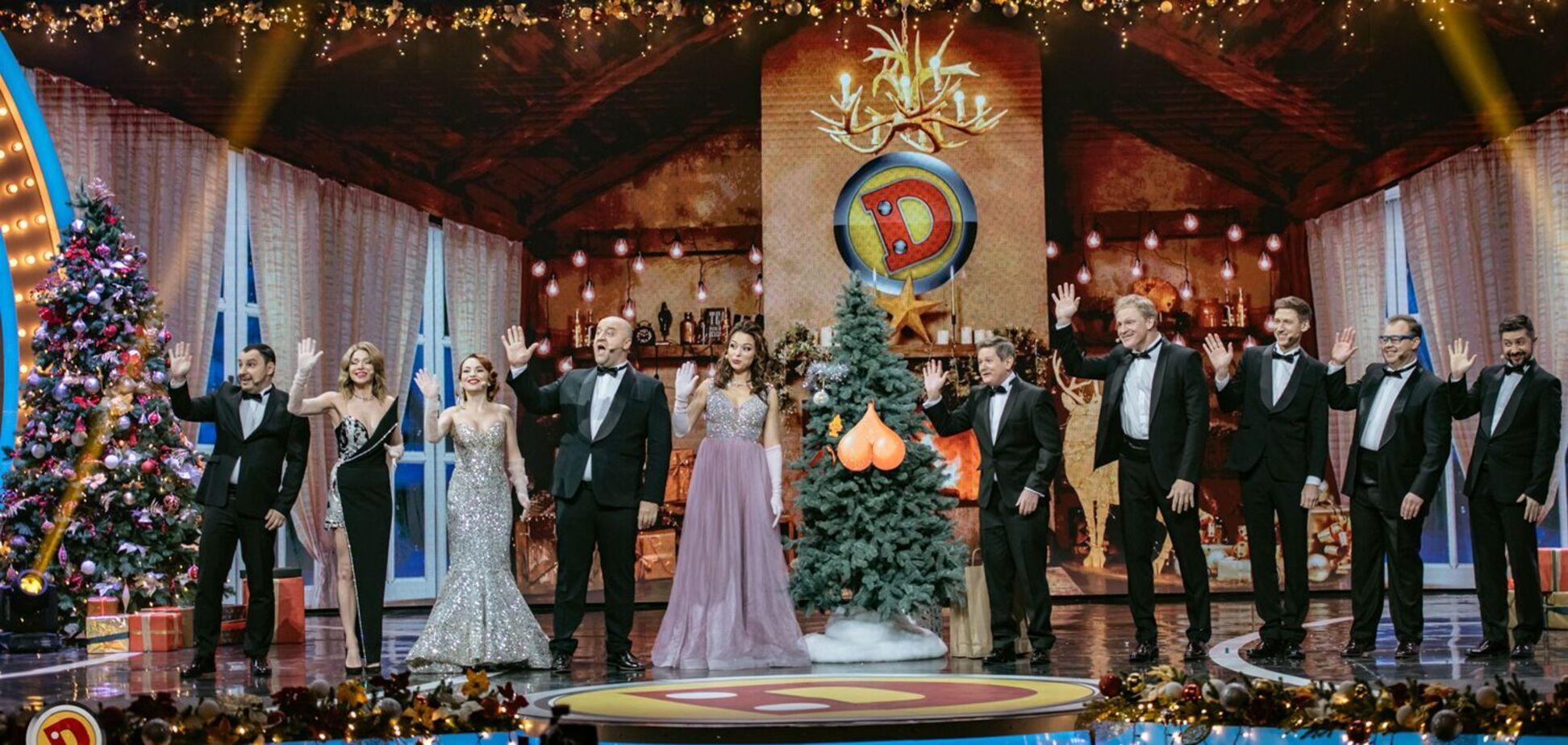 'Дизель шоу' показали закулисье новогодней программы, свергнувшей 'Квартал 95'