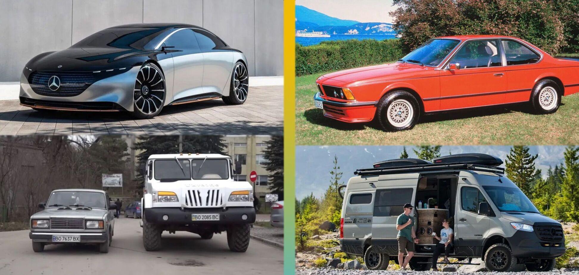 BMW с минимальным пробегом, угон года и грузовик 'Украина': лучшее за неделю