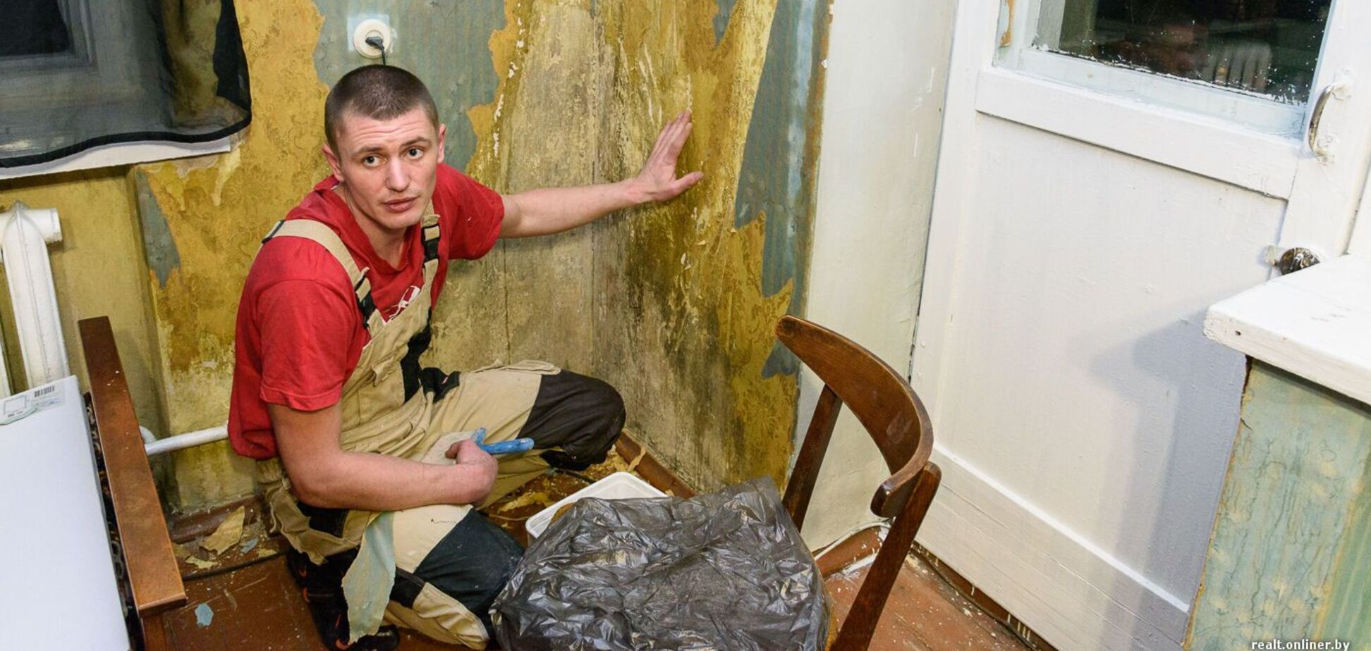 Убогие ремонты в советских квартирах