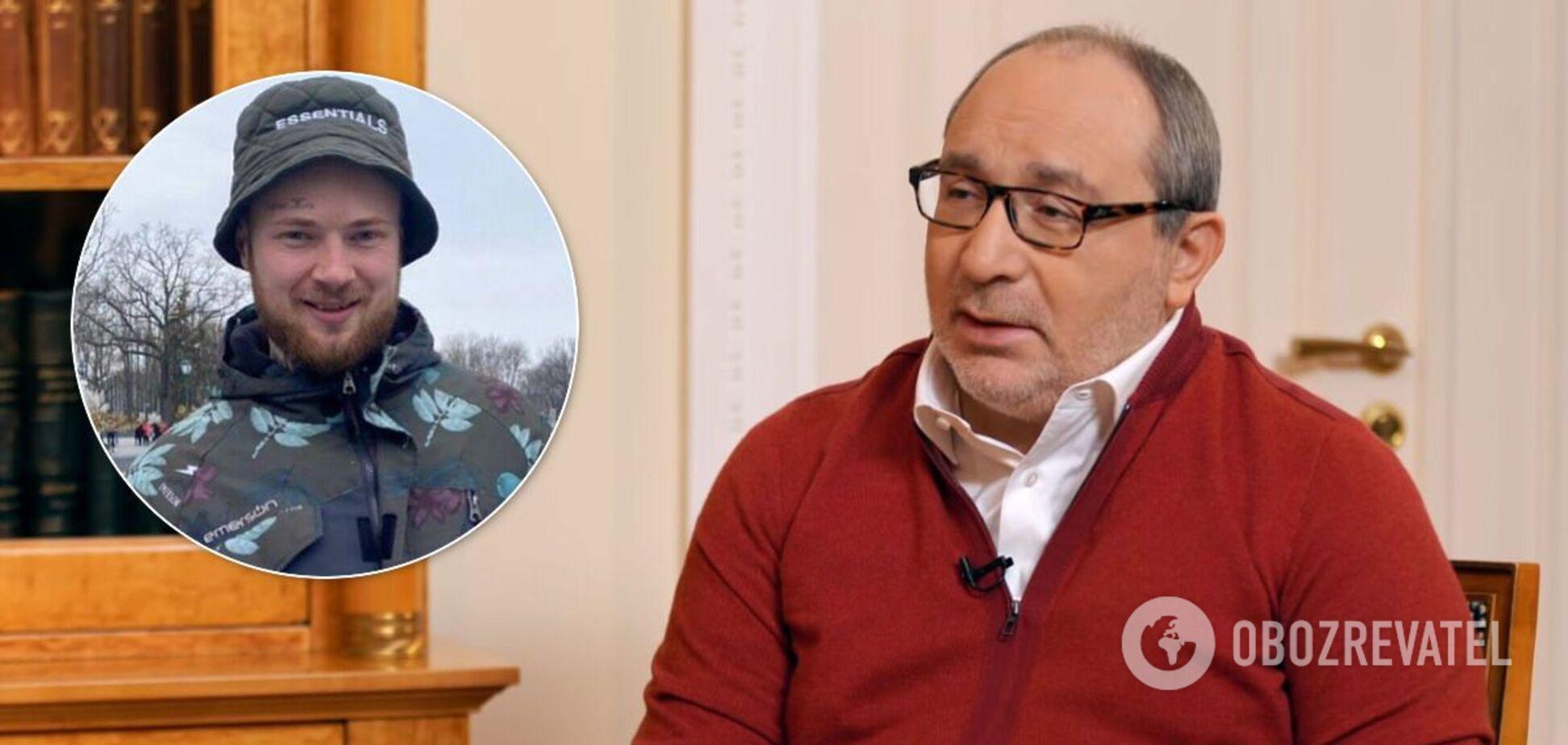 Харьковчанина с тату в честь Кернеса раскритиковали из-за безграмотного пикета