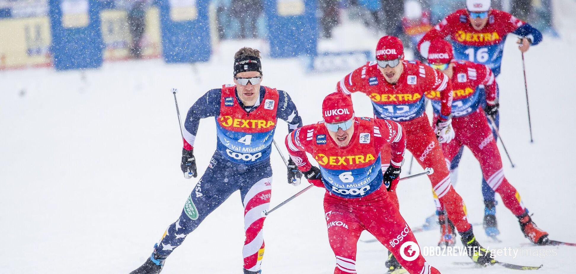 Масс-старт на 'Тур де Ски'