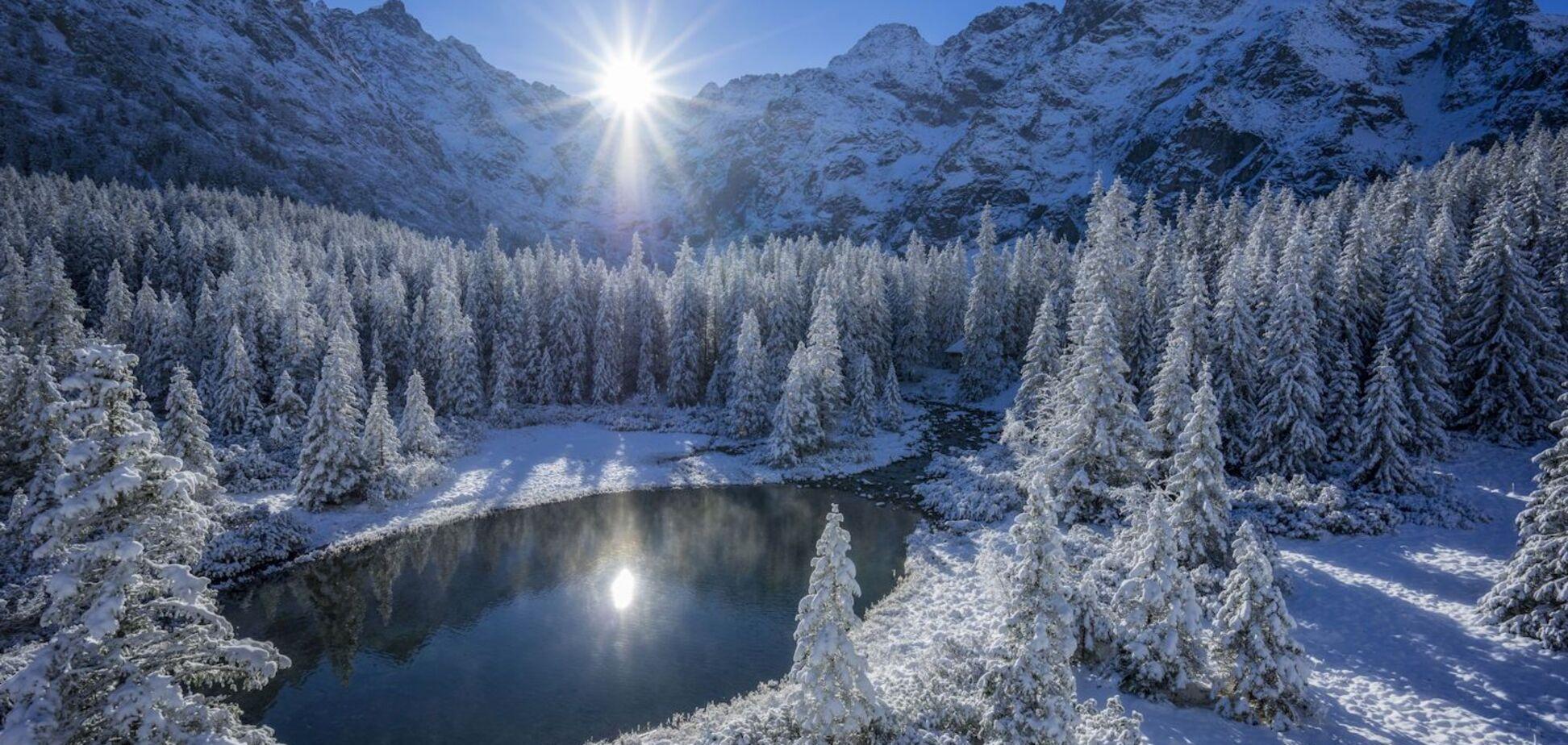 Украинские туристы провалились под лед в польских Татрах