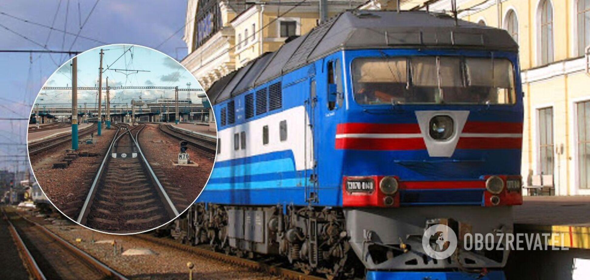 У Києві потяг на смерть збив 17-річного підлітка