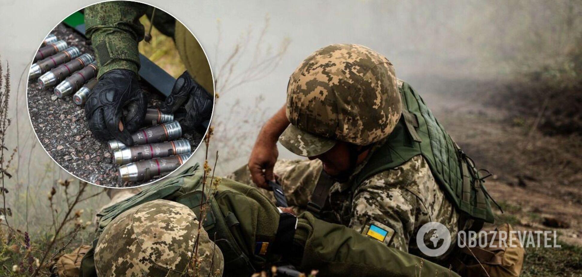 Раненый на Донбассе