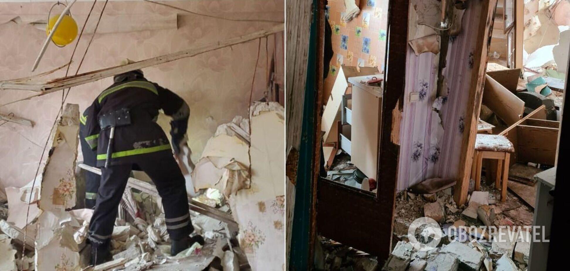 Под Днепром произошел взрыв в доме, пострадал подросток. Фото и видео