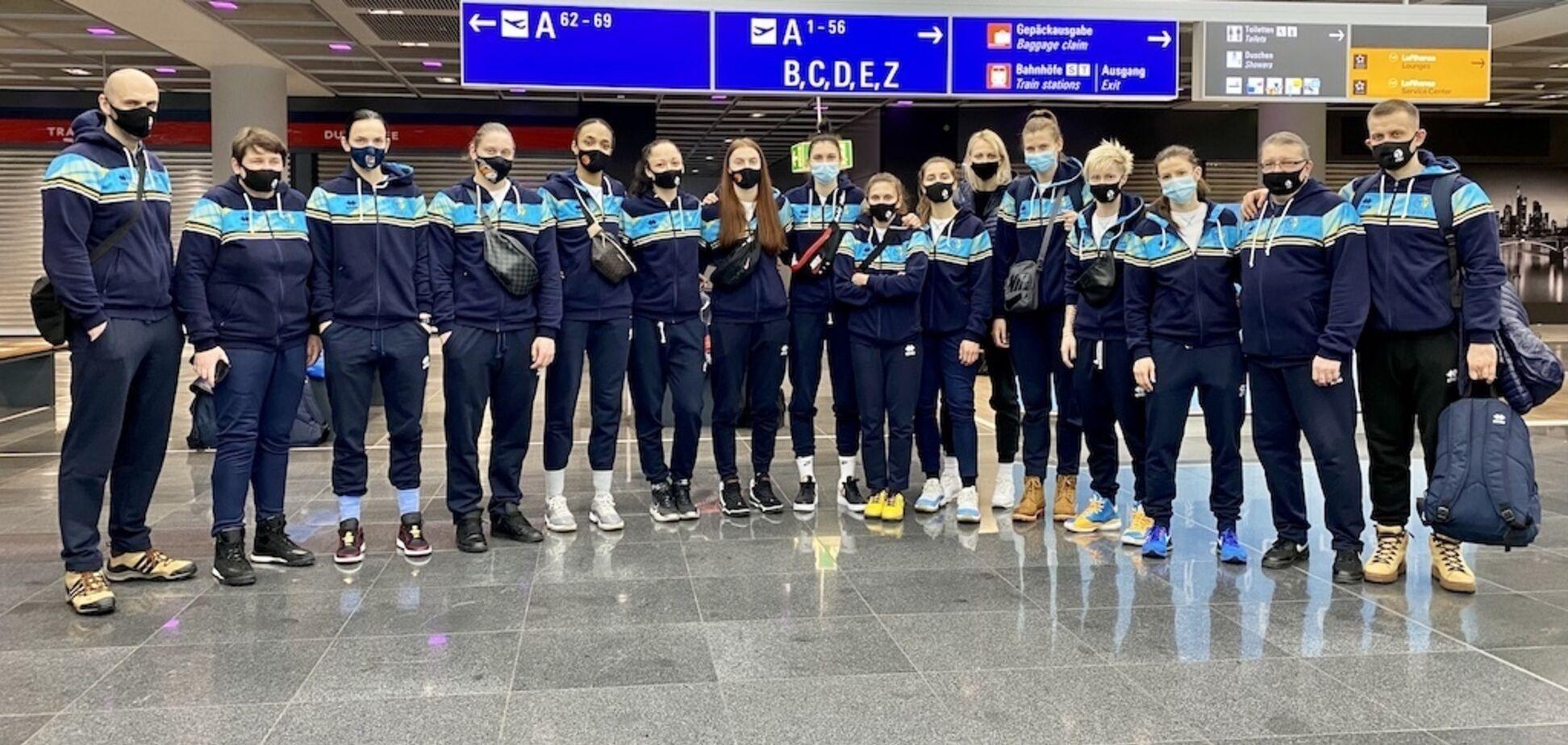 Визначився остаточний склад збірної України на матчі відбору жіночого Євробаскету-2021