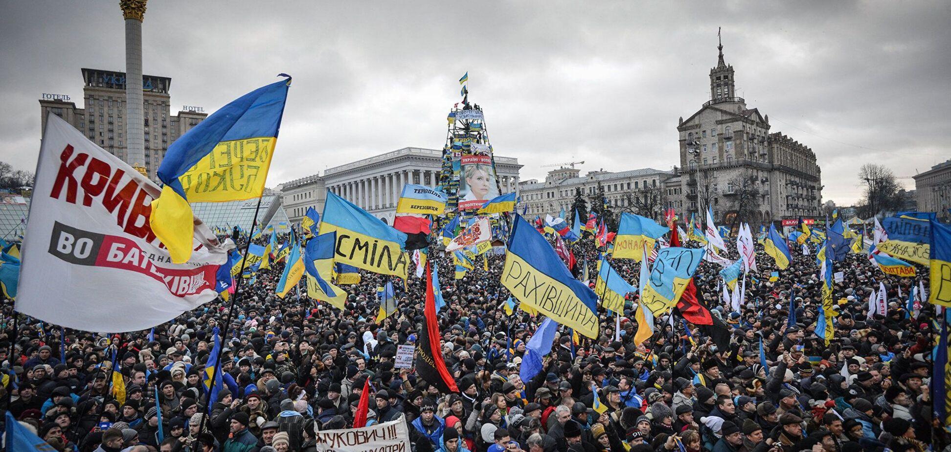 Український Майдан не може повторитися в Росії, упевнений Шендерович