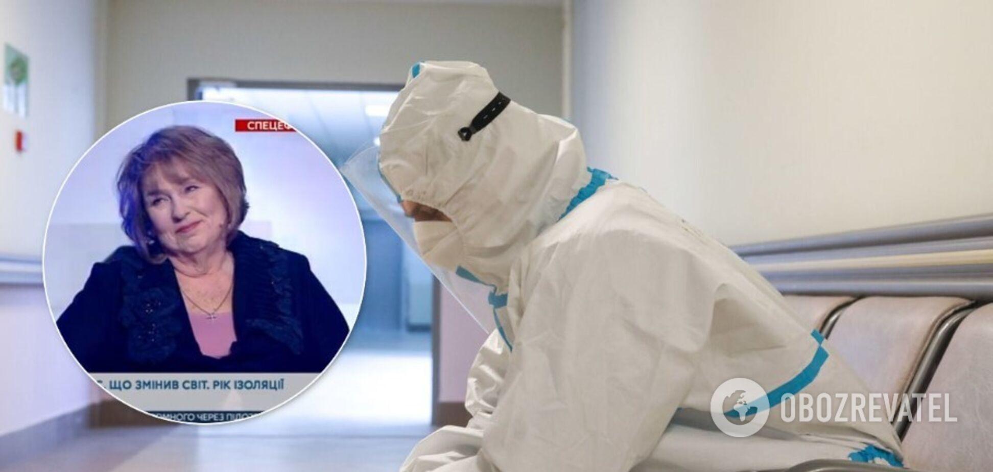 Академик НАН рассказала о неправдивости статистики коронавируса в Украине