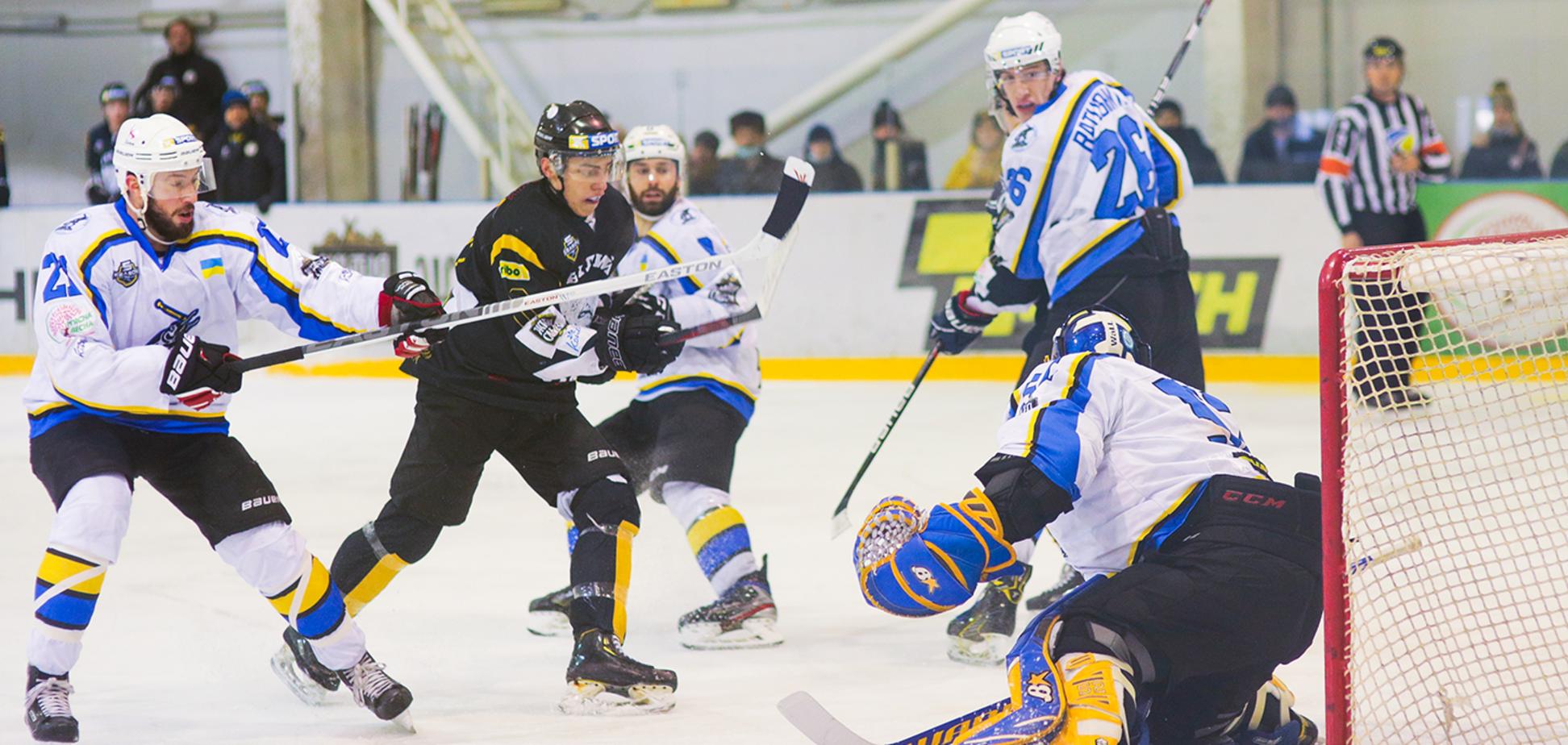 'Білий Барс' відігрався з 0:2 і вперше в сезоні обіграв 'Дніпро' в УХЛ