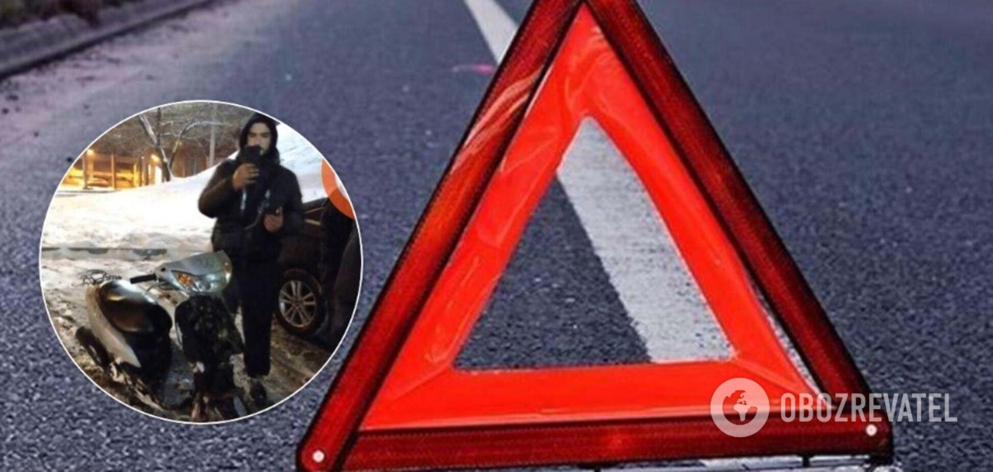 У Києві затримали п'яного водія скутера