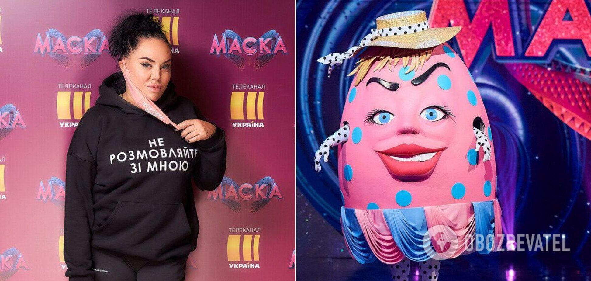 Оксана Байрак об образе Крапанки на шоу 'Маска': я пела 'бытовым сопрано'. Эксклюзивное блиц-интервью