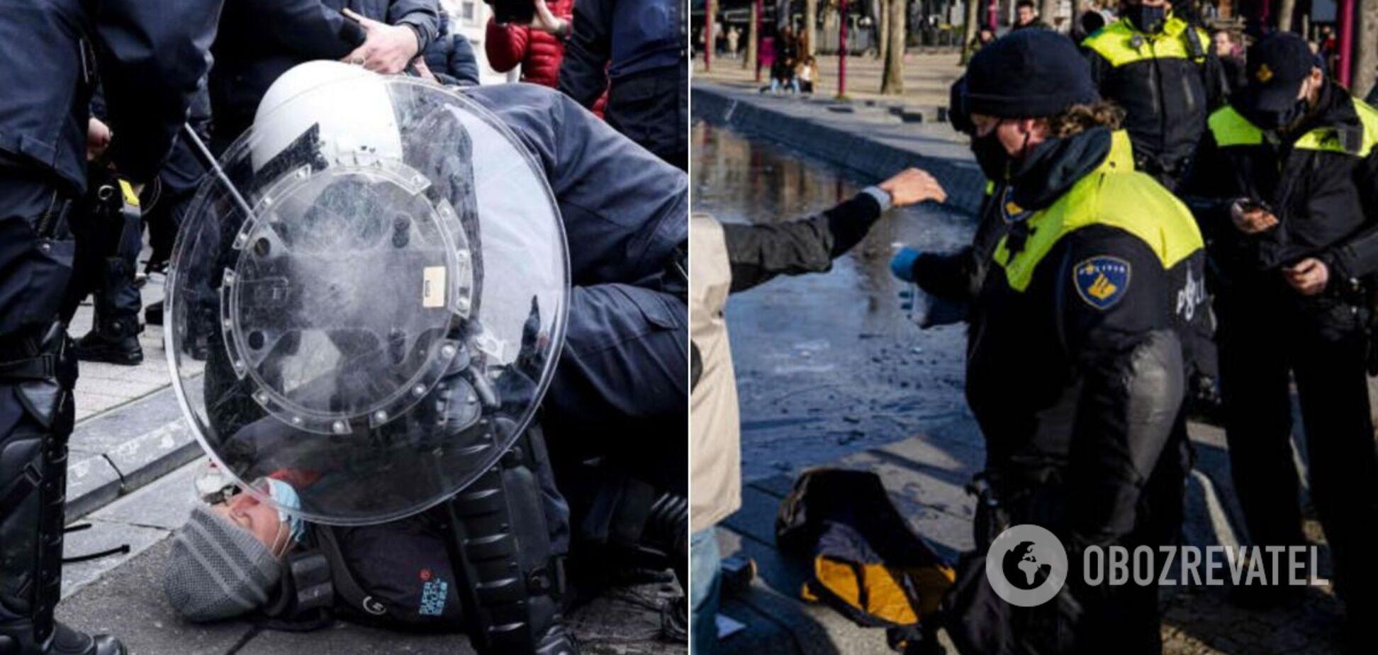 Массовые демонстрации сопровождаются беспорядками